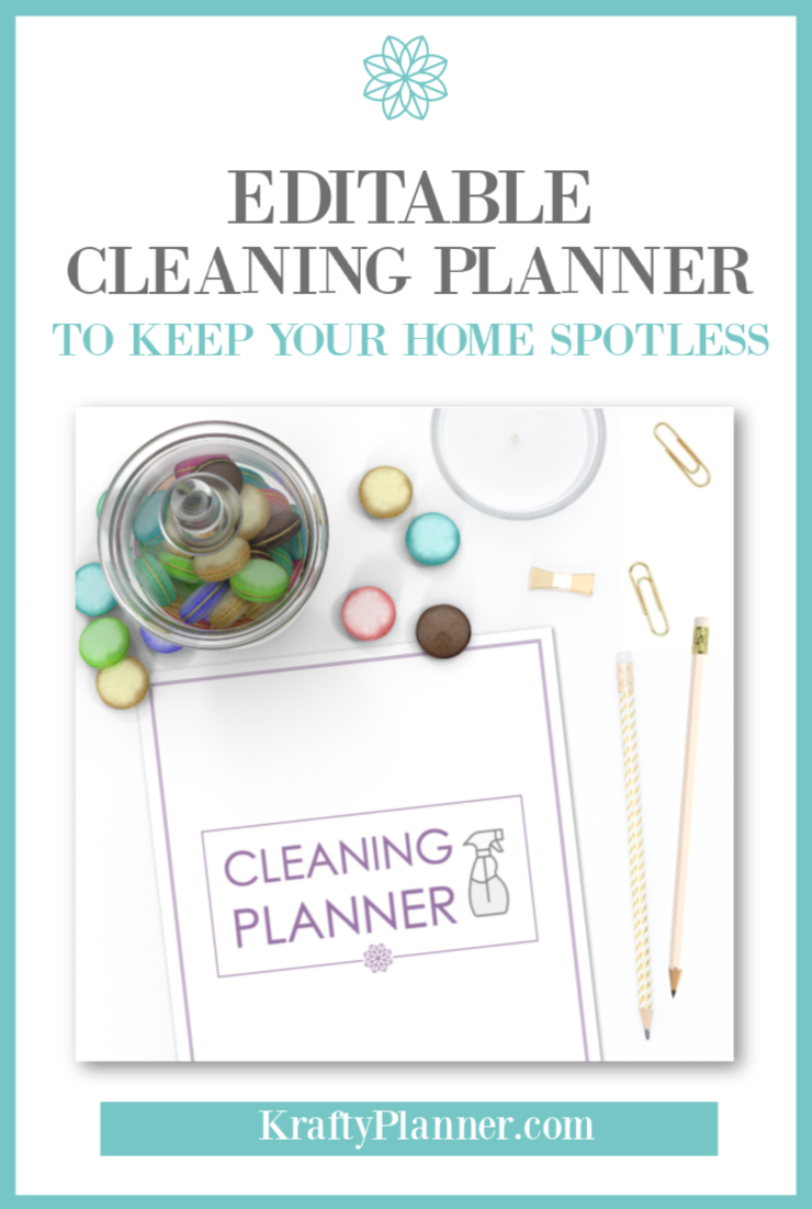 Editable Cleaning Planner to Help Keep Your Home Spotless PIN 2.png