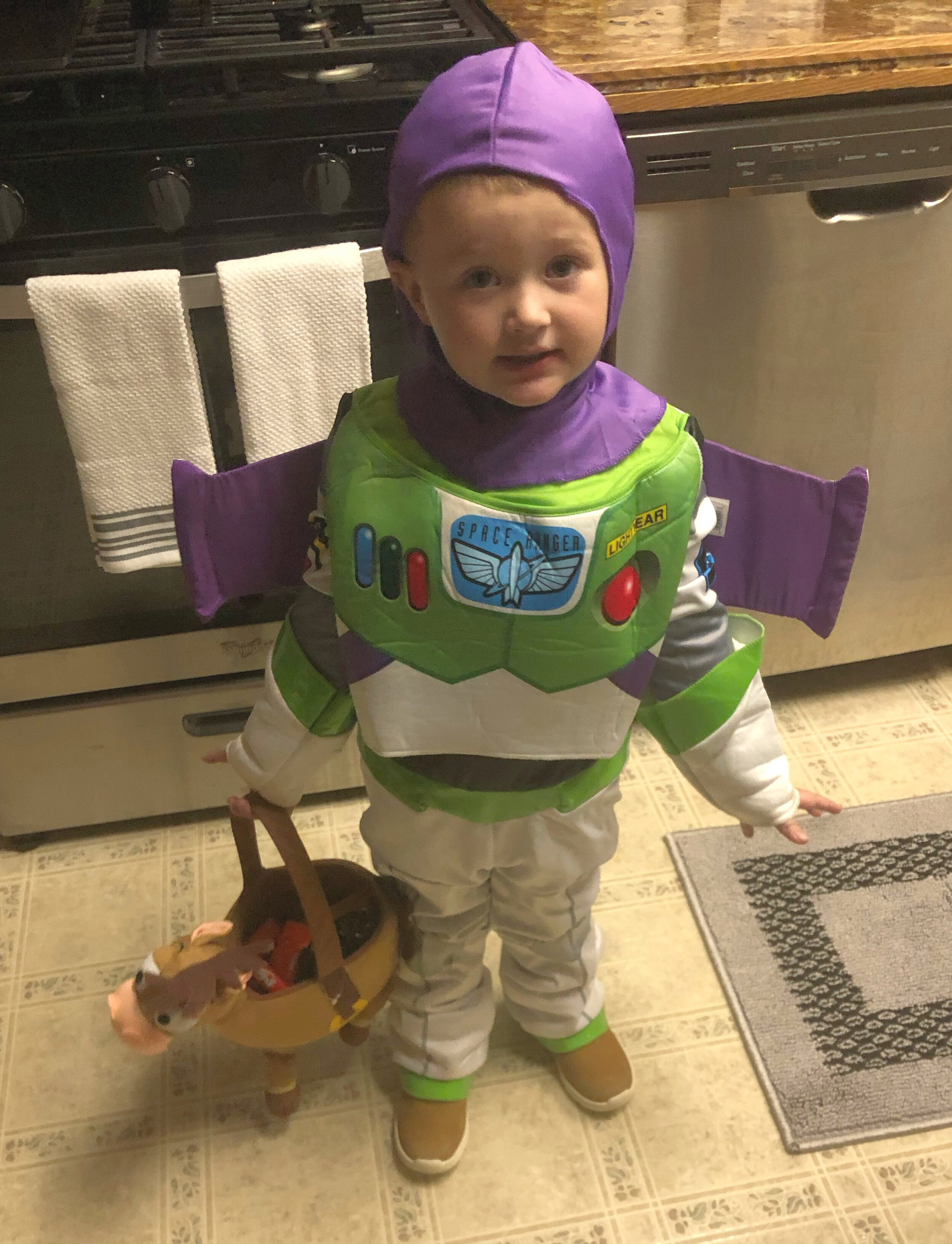 Toy Story Halloween. My Little Buzz Lightyear!