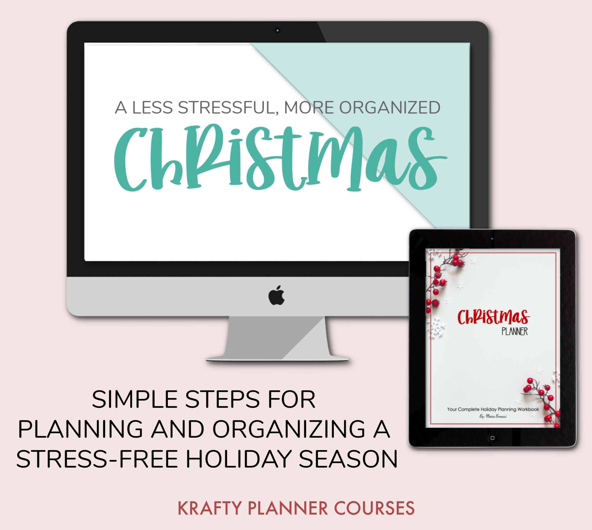 Stress-Free Christmas Planning eCourse!