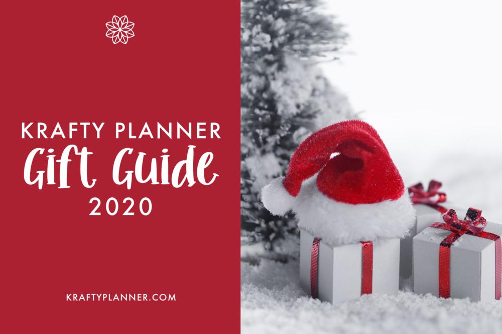 Krafty Planner 2020 Gift Guide