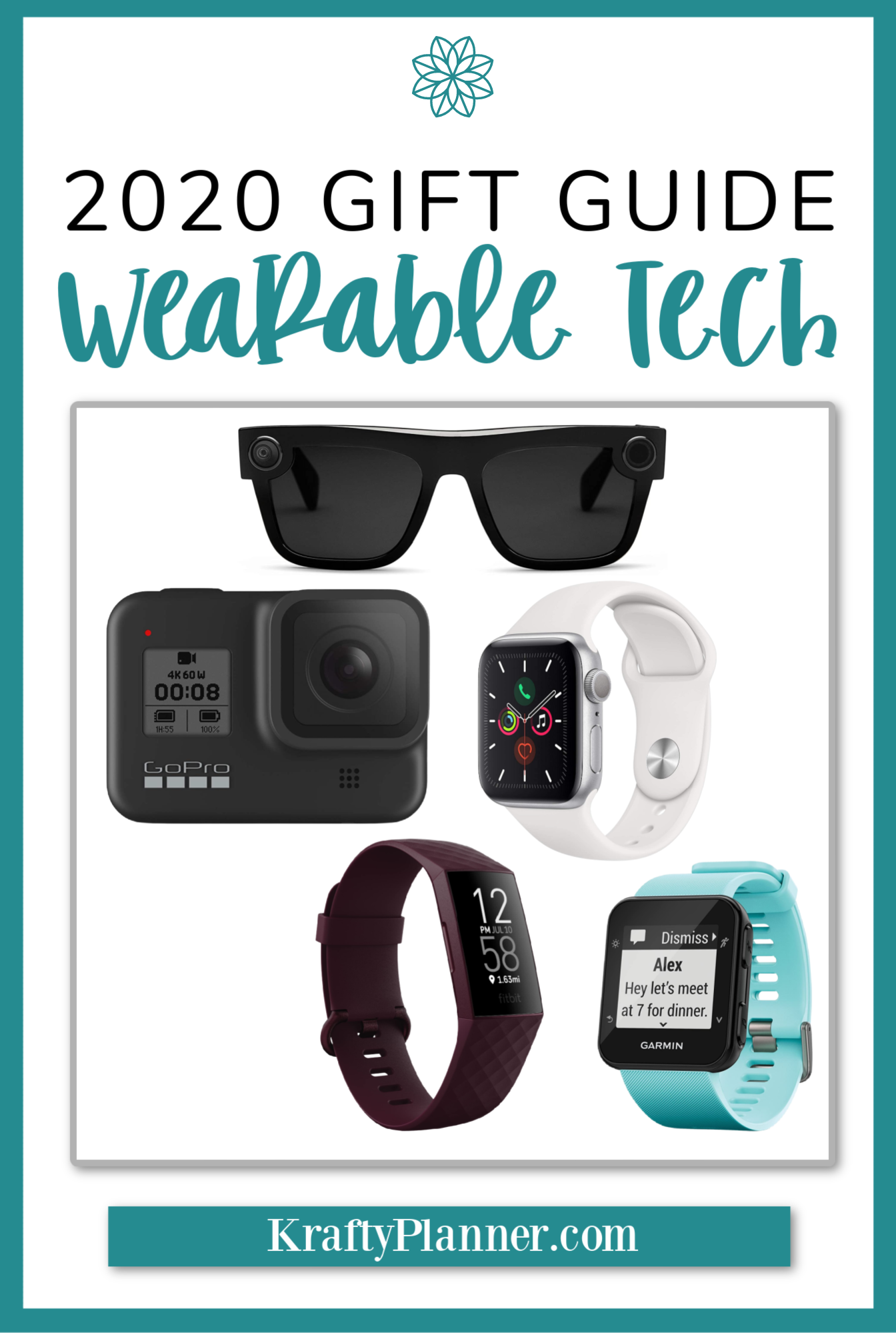 Krafty Planner 2020 Gift Guide: Wearable Technology