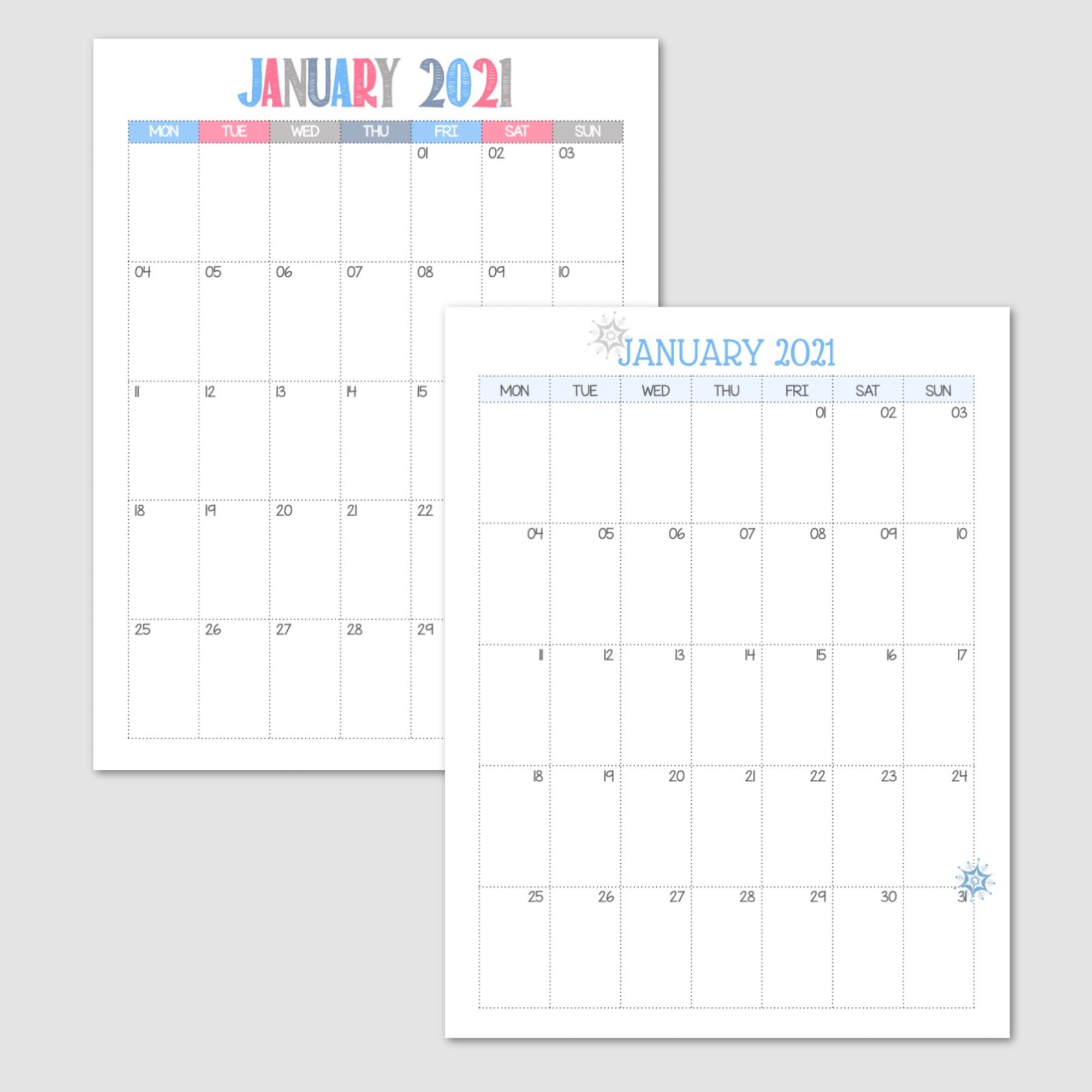 January 2021 Monday Start.png