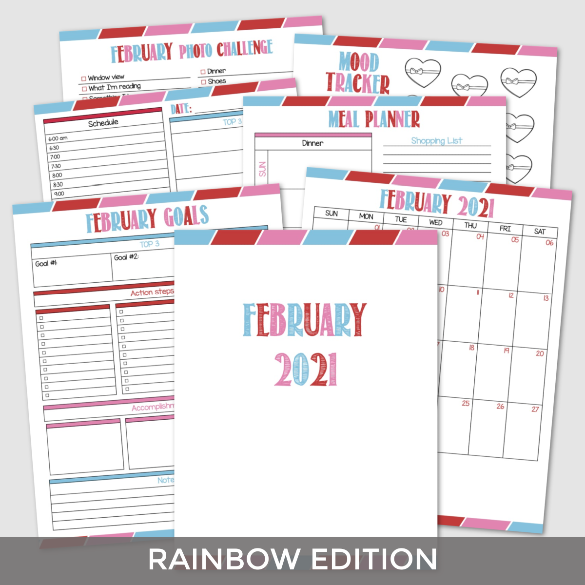 Rainbow Edition - KPS February 2021