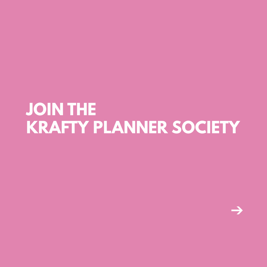 Join the Krafty Planner Society