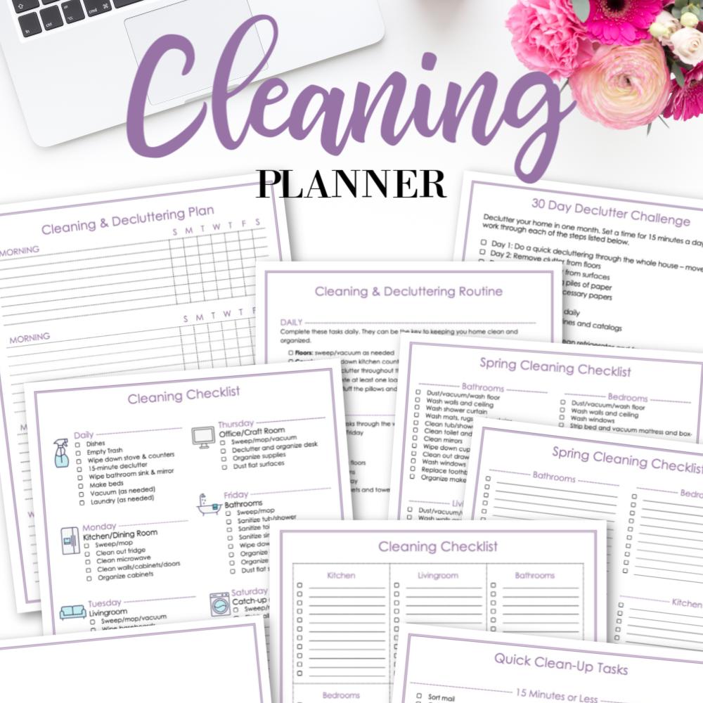 Krafty Planner Cleaning Planner