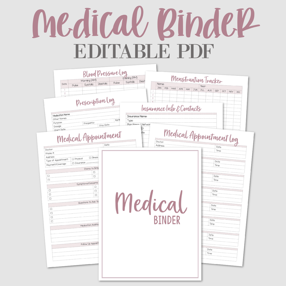 Family Medical Binder