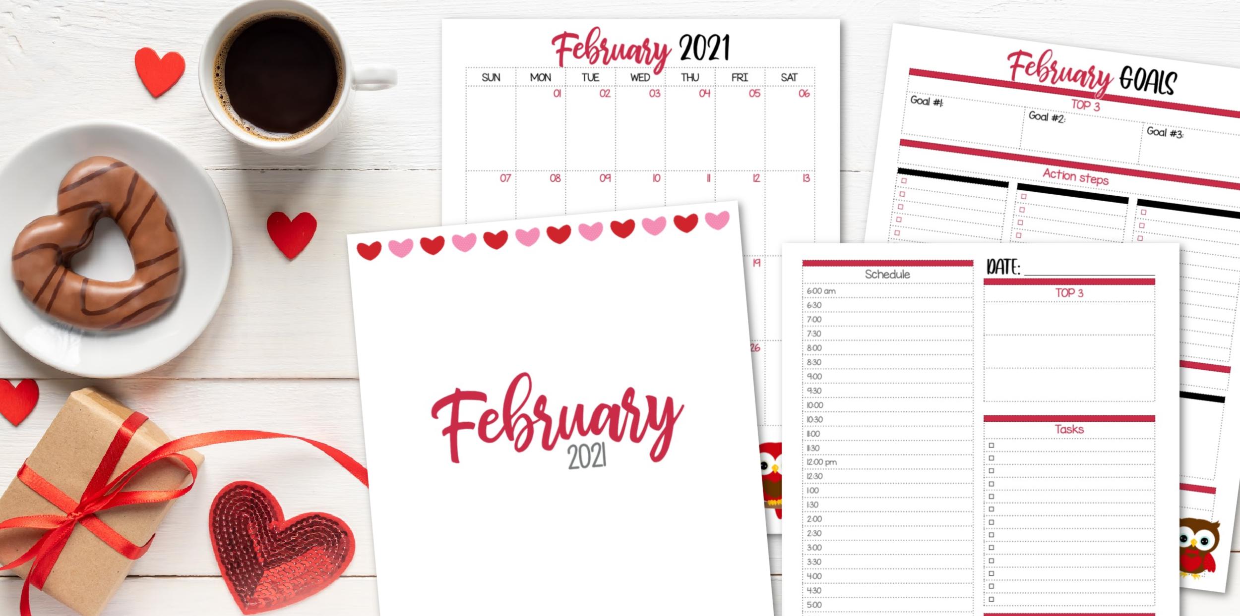 February 2021 Krafty Planner Society