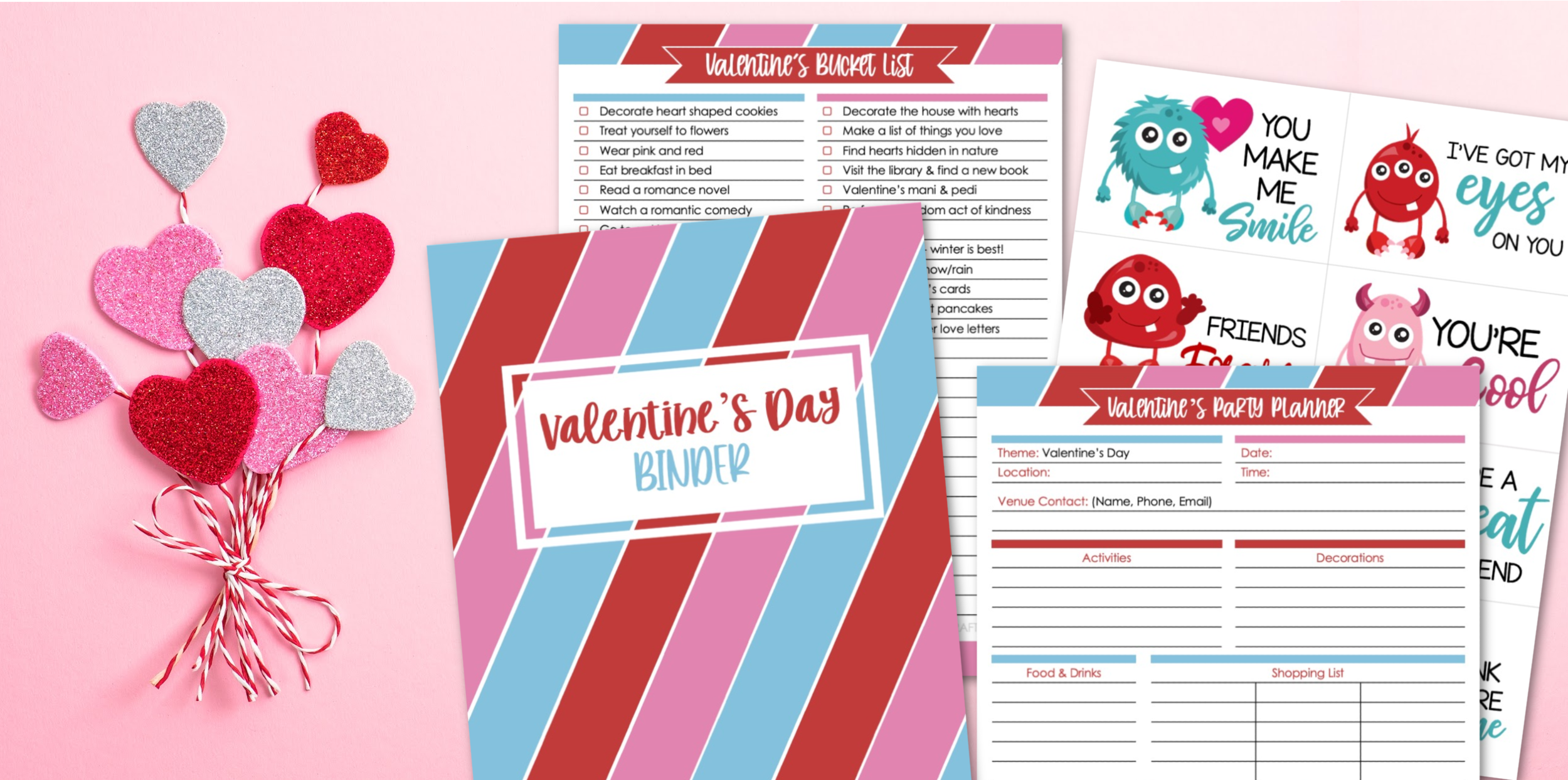 Valentine's Day Binder