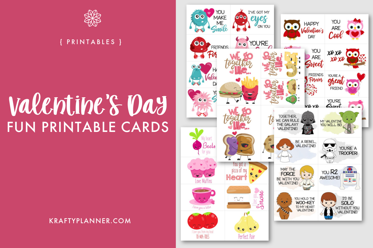 Valentine's Day Fun Printable Cards