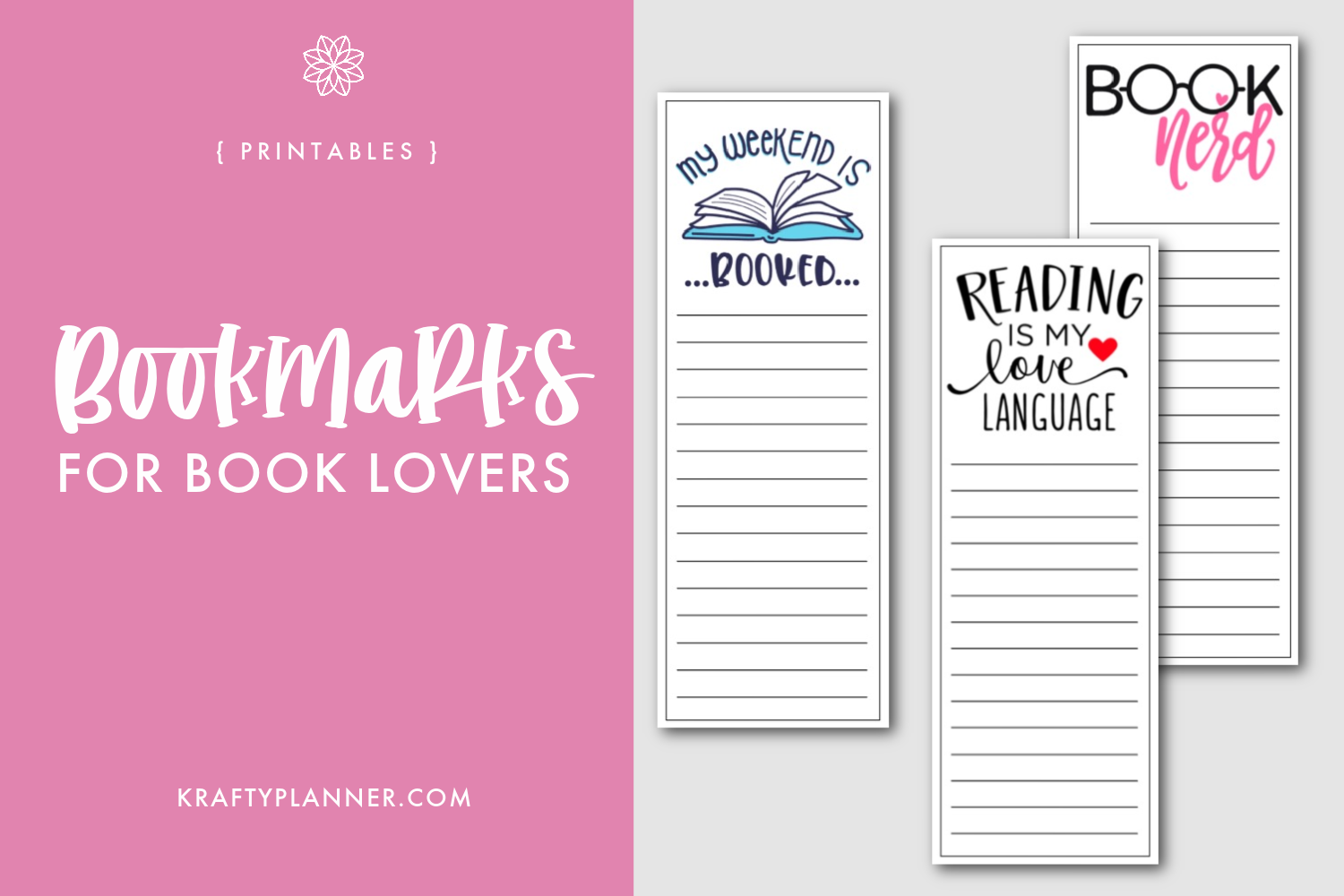 Book Lovers Bookmarks