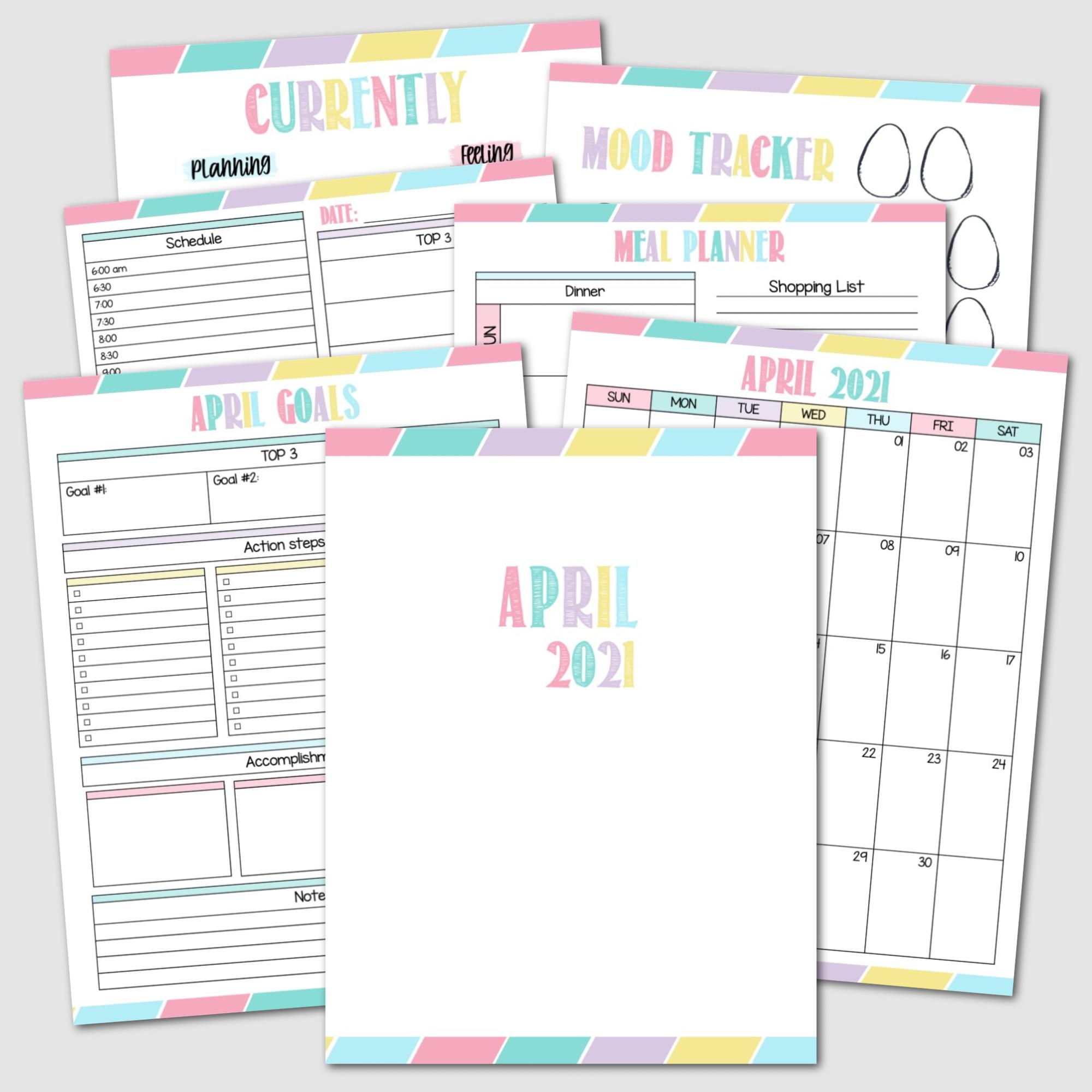 April Krafty Planner Society  Rainbow Edition.png