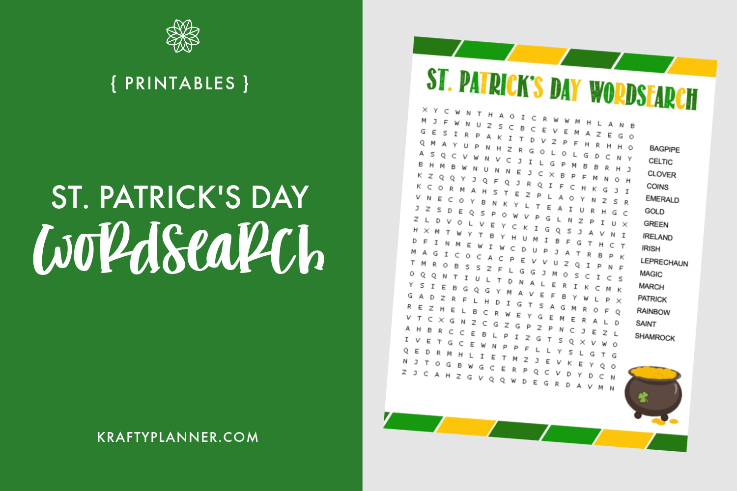 St. Patricks Day Wordsearch Main Image.png