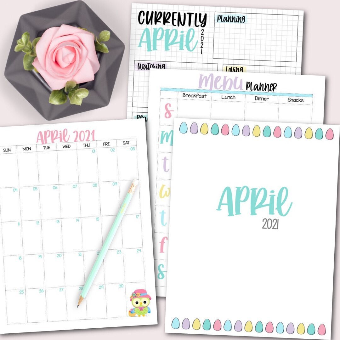 Hello my Krafty Planner Pals! It's time for the April Krafty Planner Society.  ⠀⠀⠀⠀⠀⠀⠀⠀⠀ The Krafty Planner Society gives you everything you need to plan your month and organize your time. Plus, you get exclusive access to bonus planners and printables that are only available in the community.  ⠀⠀⠀⠀⠀⠀⠀⠀⠀ In addition to ALL of the previous month's planners, printables,  and bonuses each month you will receive: ➡️ Monthly Planning Pack ➡️ Monthly Planning Pack - Rainbow Edition ➡️ Bonus Planner ➡️ Exclusive Wall Art Design ⠀⠀⠀⠀⠀⠀⠀⠀⠀ This month's bonus is a brand new Easter Binder.  This massive 80+ page printable binder is your perfect solution to organizing EVERYTHING Easter. From your dinner menu and shopping lists to your gifts, cards, Easter decorations, and everything in between.  ⠀⠀⠀⠀⠀⠀⠀⠀⠀ See what included via the link in my profile plus: /blog/april-krafty-planner-society . . . #KraftyPlannerSociety #KraftyPlanner #Planning #Planner #Printables #PlannerPrintables #Mon