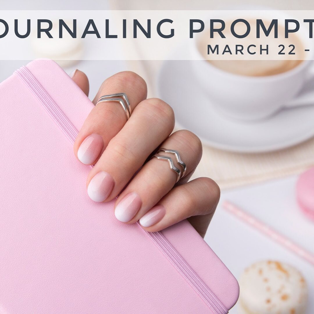 "Sometimes the hardest part of journaling is getting started. Hopefully, this week's prompts will make things a little simpler for you.  ⠀⠀⠀⠀⠀⠀⠀⠀⠀ Here are a few basic ""everyday"" prompts to get you motivated even when you don't feel like writing.  ⠀⠀⠀⠀⠀⠀⠀⠀⠀ ⭐️ My favorite story from today was... ⭐️ Something I'm worrying about right now is... ⭐️ Something I'm excited about right now is... ⭐️ Document your daily schedule ⭐️ Today I learned... ⭐️ The book I'm reading right now is... ⭐️ Document your life. Take photos around the house to capture your life - include close-up's and shots that show the reality of your daily life, messes and all. ⠀⠀⠀⠀⠀⠀⠀⠀⠀ Save this post and come back to these prompts when you need a little help getting started. Next week we will work on our end-of-month review and April planning. See you then! . . . #journaling #journalingprompts #writing #journal #journalprompts #creativejournaling #journalingideas #journalcommunity #writingcommunity #weeklyprompts"