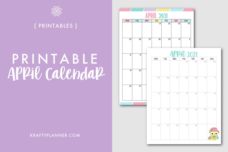 Free Printable April Calendar Main Image.png