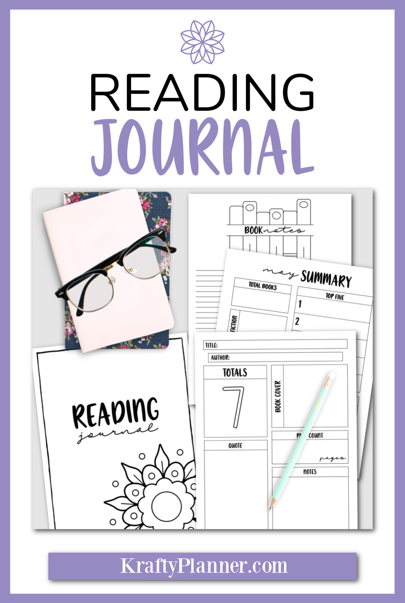 Reading Journal: 145 Page Printable PIN 2 copy.png