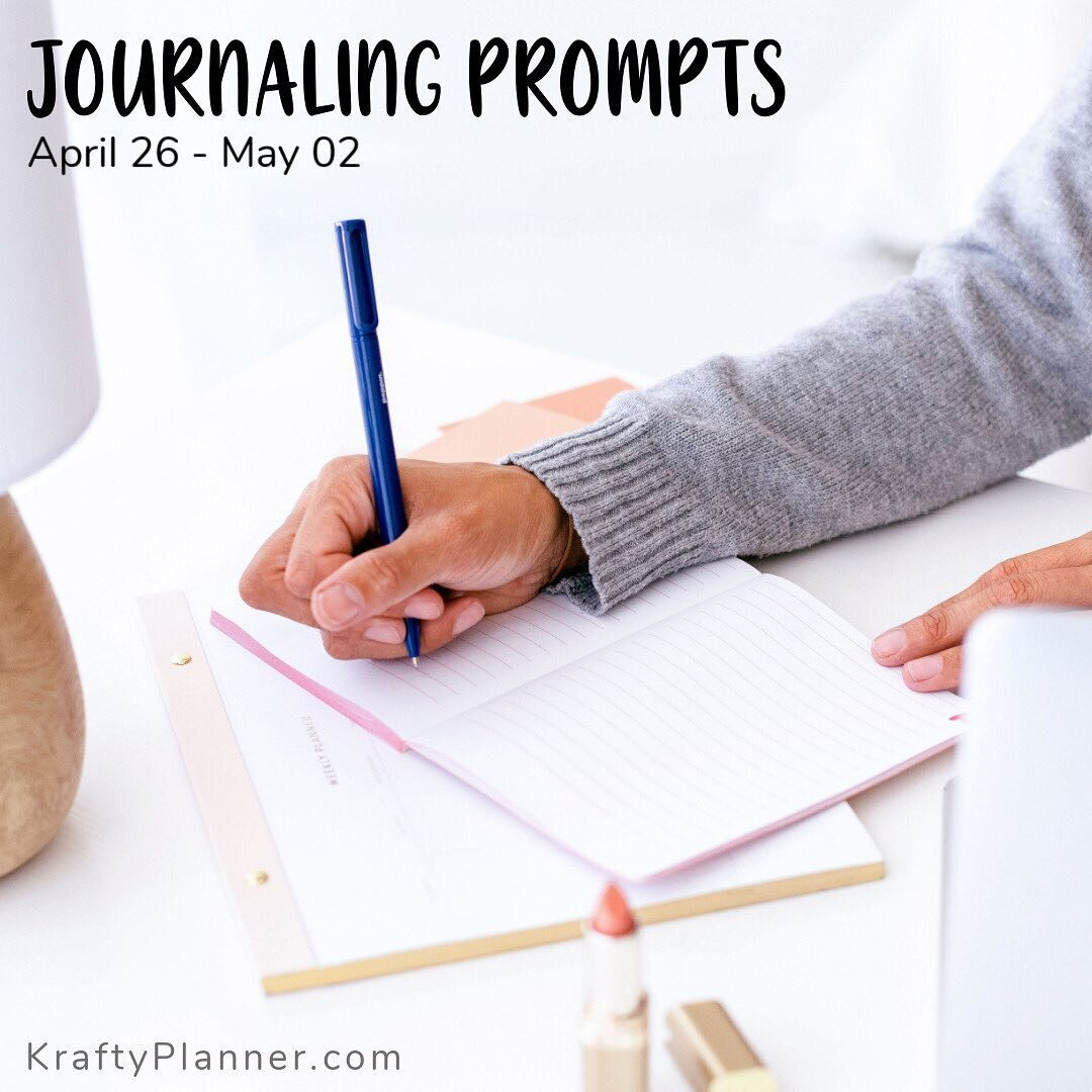 It's time for our end-of-month review and to get ready for the new month ahead. Here are this weeks prompts. ⠀⠀⠀⠀⠀⠀⠀⠀⠀ The new monthly prompts for May will be on the blog tomorrow so be sure to stop by via the link in my bio and grab the full list... ⠀⠀⠀⠀⠀⠀⠀⠀⠀ ➡️ What is your favorite book? Why do you like it? How many times have you read it? How does your view of the book change each time you read it?  ➡️ What is your favorite movie? How many times have you seen it? Why do you like it so much? ➡️ Look ahead to next month: what events do you need to prepare for? ➡️ What good things happened this month? What were your favorite moments this month?  ➡️ Monthly review! How did this month go? Which goals did you complete? What do you still need to work on? ➡️ What do you want to do this month? Write your goals for the month, and think about what you need to do to accomplished them.  ➡️ What are you excited about in the coming month?  ⠀⠀⠀⠀⠀⠀⠀⠀⠀ . . . Sent via @planoly #planoly #journaling #j
