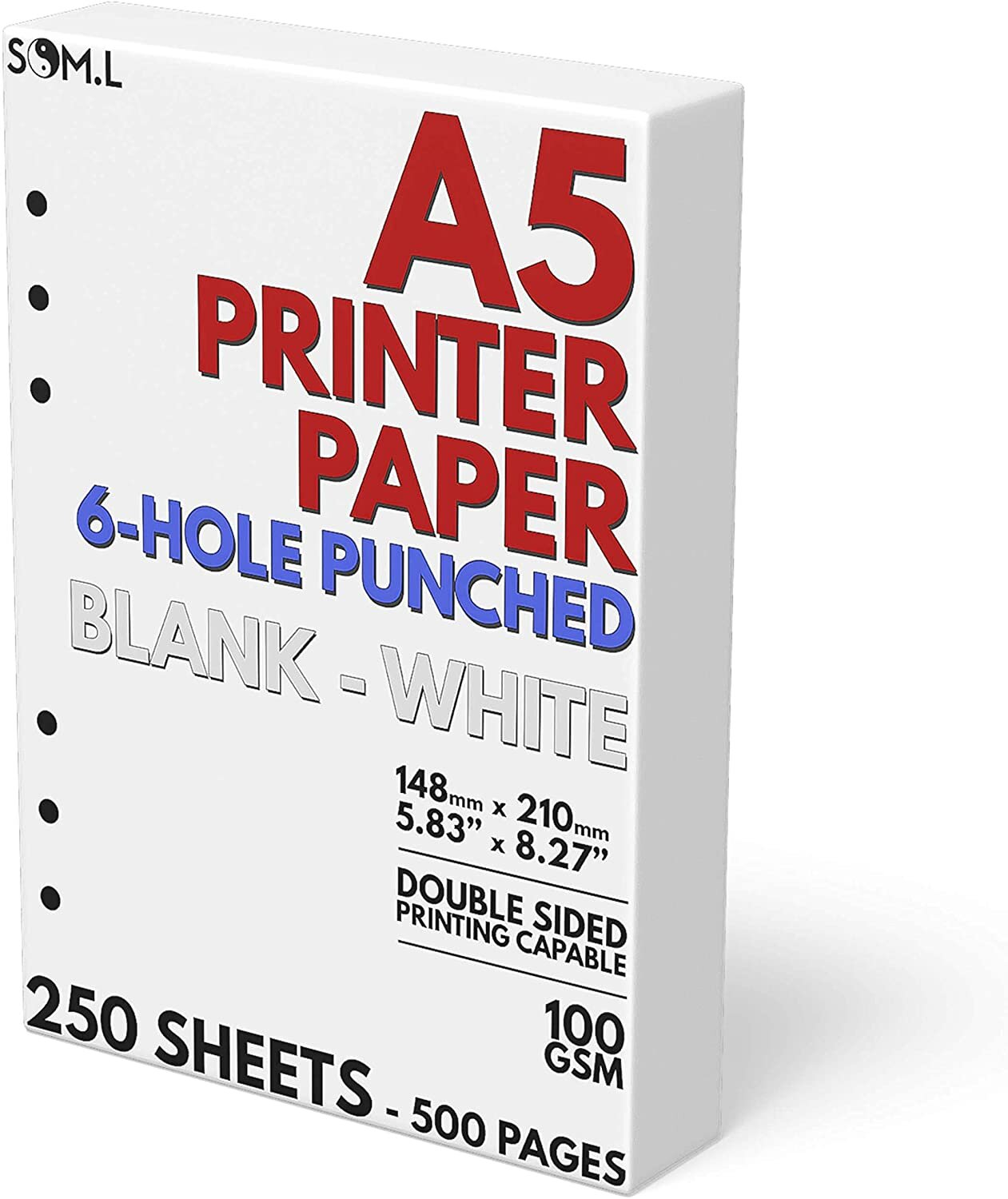 A5 Blank Paper 6-Hole Punched.jpg