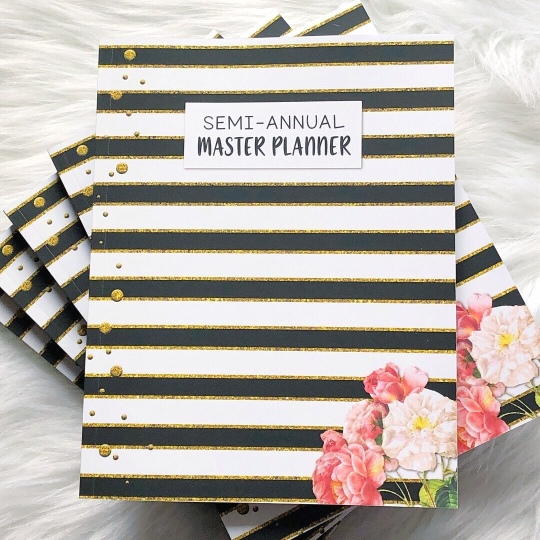 Hello my Krafty Planners, I have some big news and I'm thrilled to finally be able to share it. My next printed planner, the Semi-Annual Master Planner is coming your way next week.  ⠀⠀⠀⠀⠀⠀⠀⠀⠀ Today I get to show you the cover! I had a lot of fun creating this planner—and I love its elegant cover. ⠀⠀⠀⠀⠀⠀⠀⠀⠀ I will be back next week with more information on what's inside and how you can get your copy. Till then… ⠀⠀⠀⠀⠀⠀⠀⠀⠀ Share Your Thoughts: I would love to know what you think of the cover? Let me know in the comments. . . . ⠀⠀⠀⠀⠀⠀⠀⠀⠀ Sent via @planoly #planoly #KraftyPlanner #Planning #Planner  #MonthlyPlanning #weeklyplanning #bulletjournal #bulletjournaling #bujo #bujocommunity #MenuPlanner #plannergirl #planneraddict #plannerlife #planners #lifeplanner #plannercommunity #printableparty  #plannerbabe #plannerlove #plannerobsessed #planningforsuccess #planningahead #plannernerd #printableaddict #plannerjunkie #planningmom #functionalplanning #semiannual