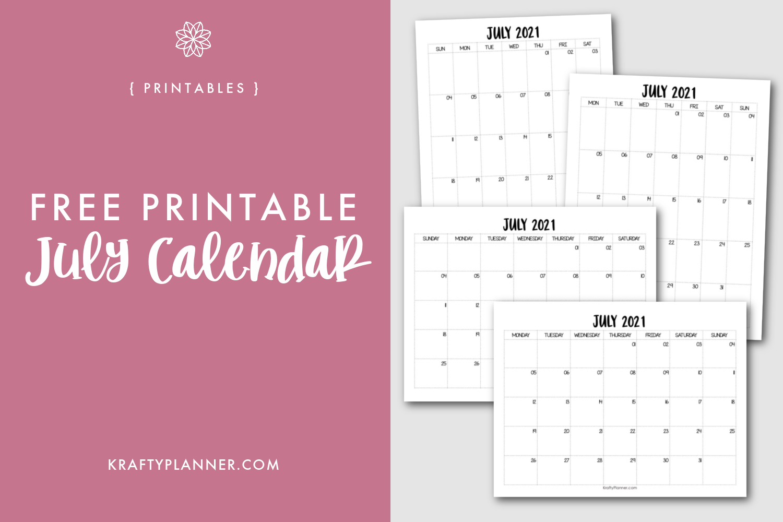Free Printable July 2021 Calendar .png