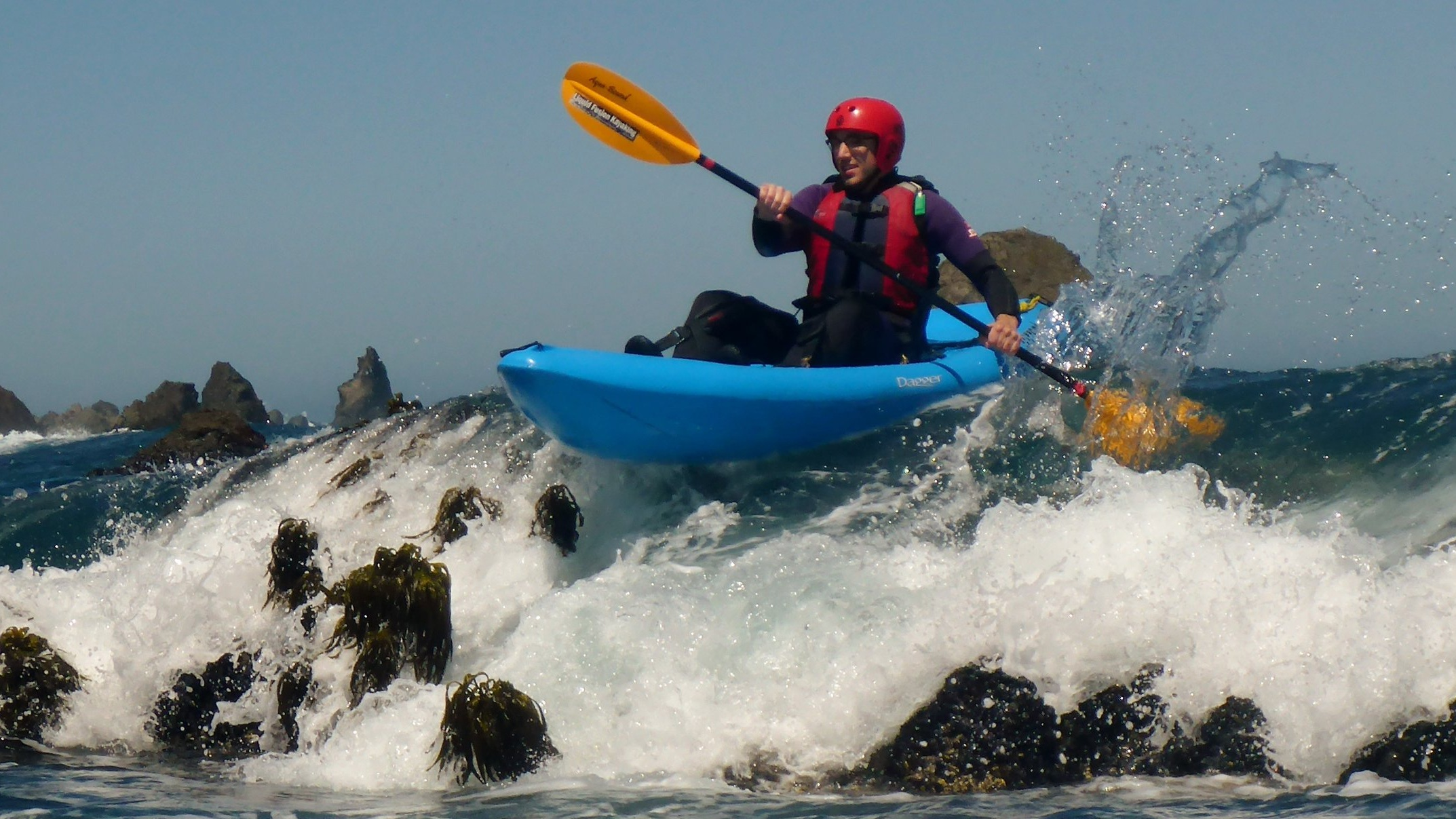 Whitewater of the Sea is a unique ocean kayaking adventure on the Mendocino Coast.