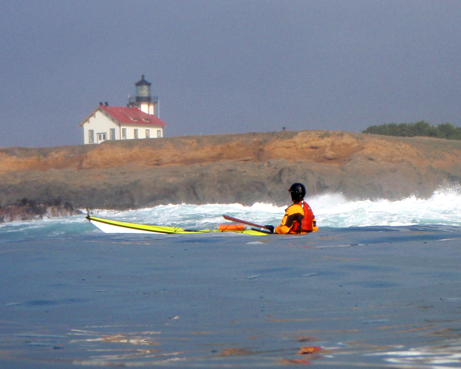 Sea Kayaking by Point Cabrillo Photo Liquid Fusion Kayaking