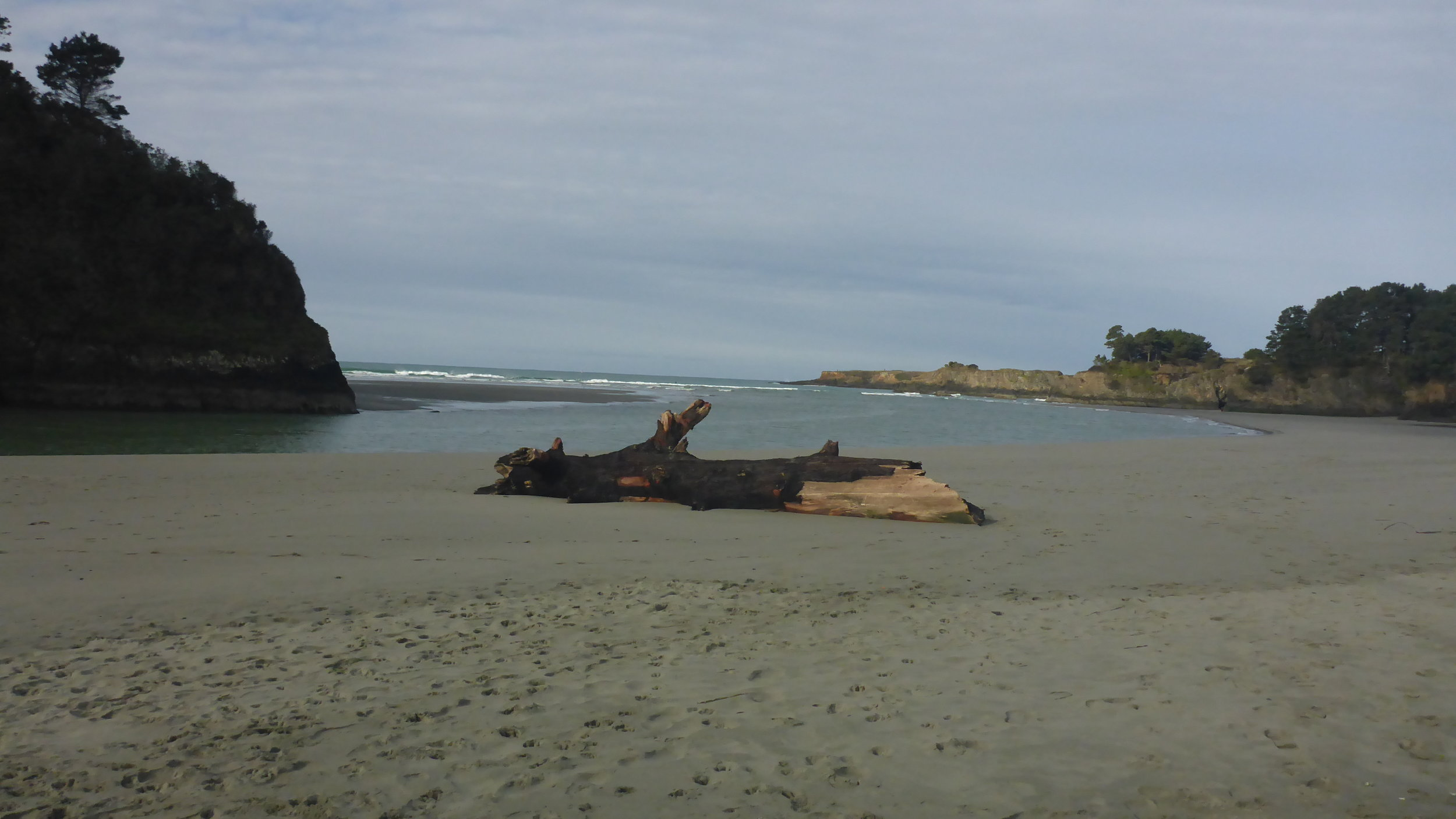 Big River is a beautiful beach for a stroll or a picnic.