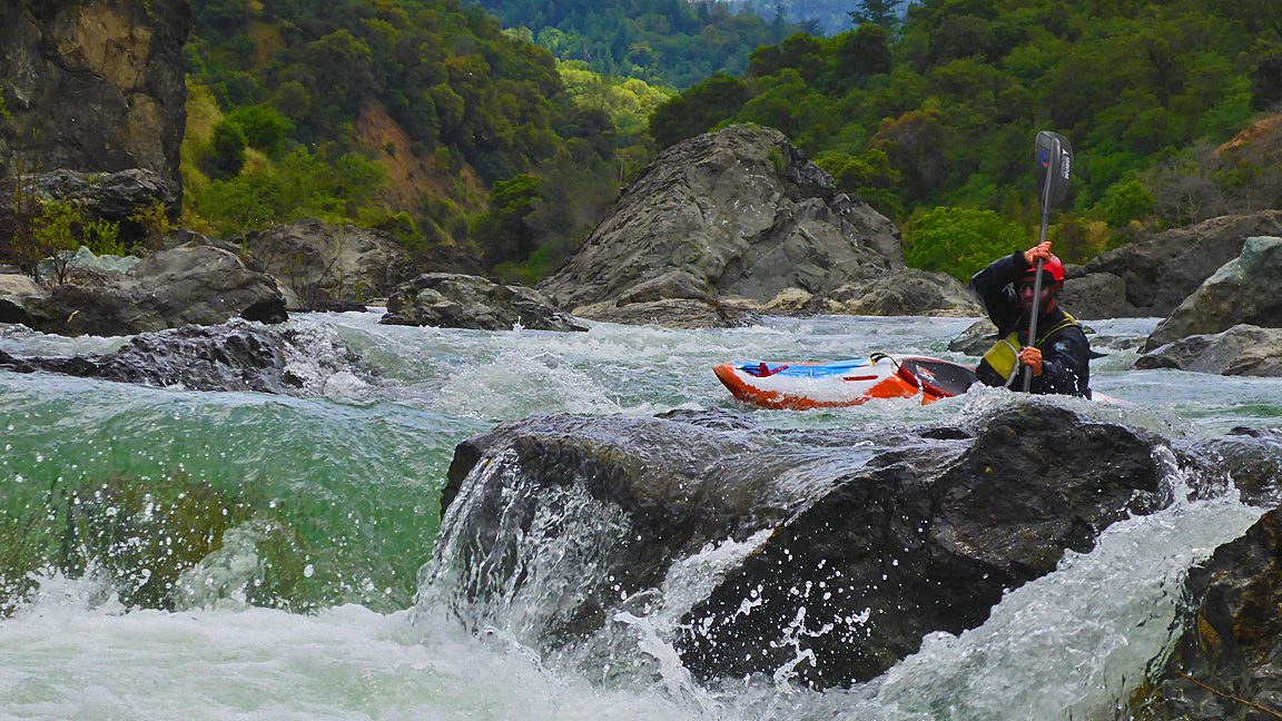 Liquid Fusion Kayaking teaches classes and guides whitewater kayak trips on the Eel River.