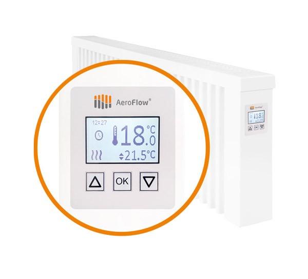 FlexiSmart - Vezérlőegység a radiátoron