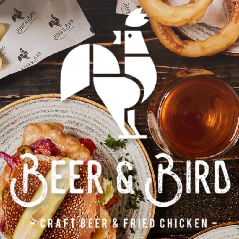 Beer and Bird Social Media