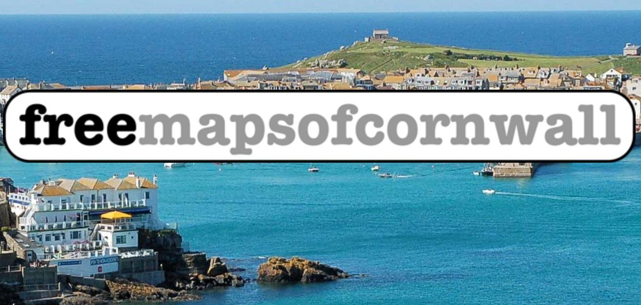 Maps of Cornwall