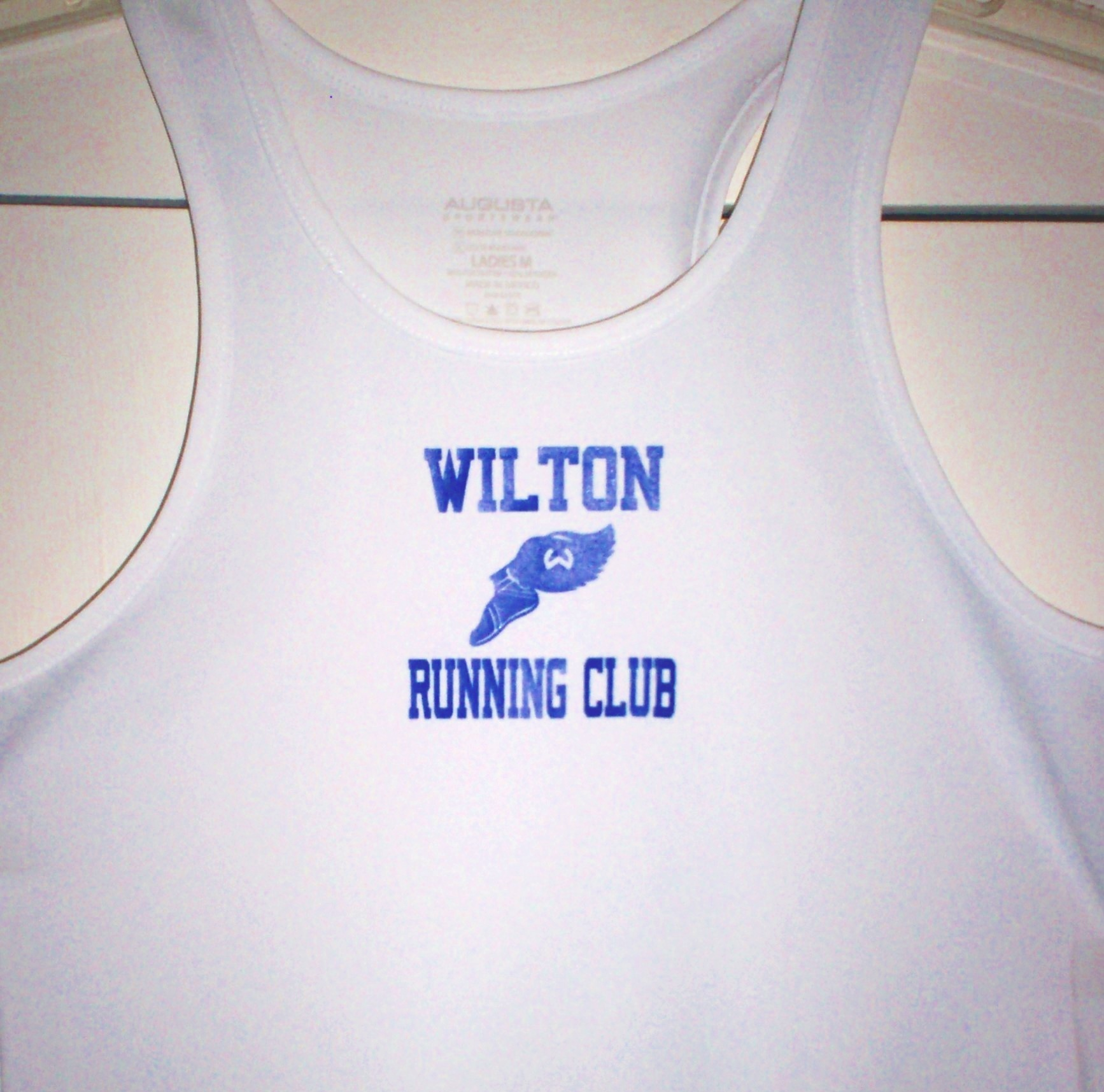 Wilton Running Club Tank Top in Girls and Women's sizes