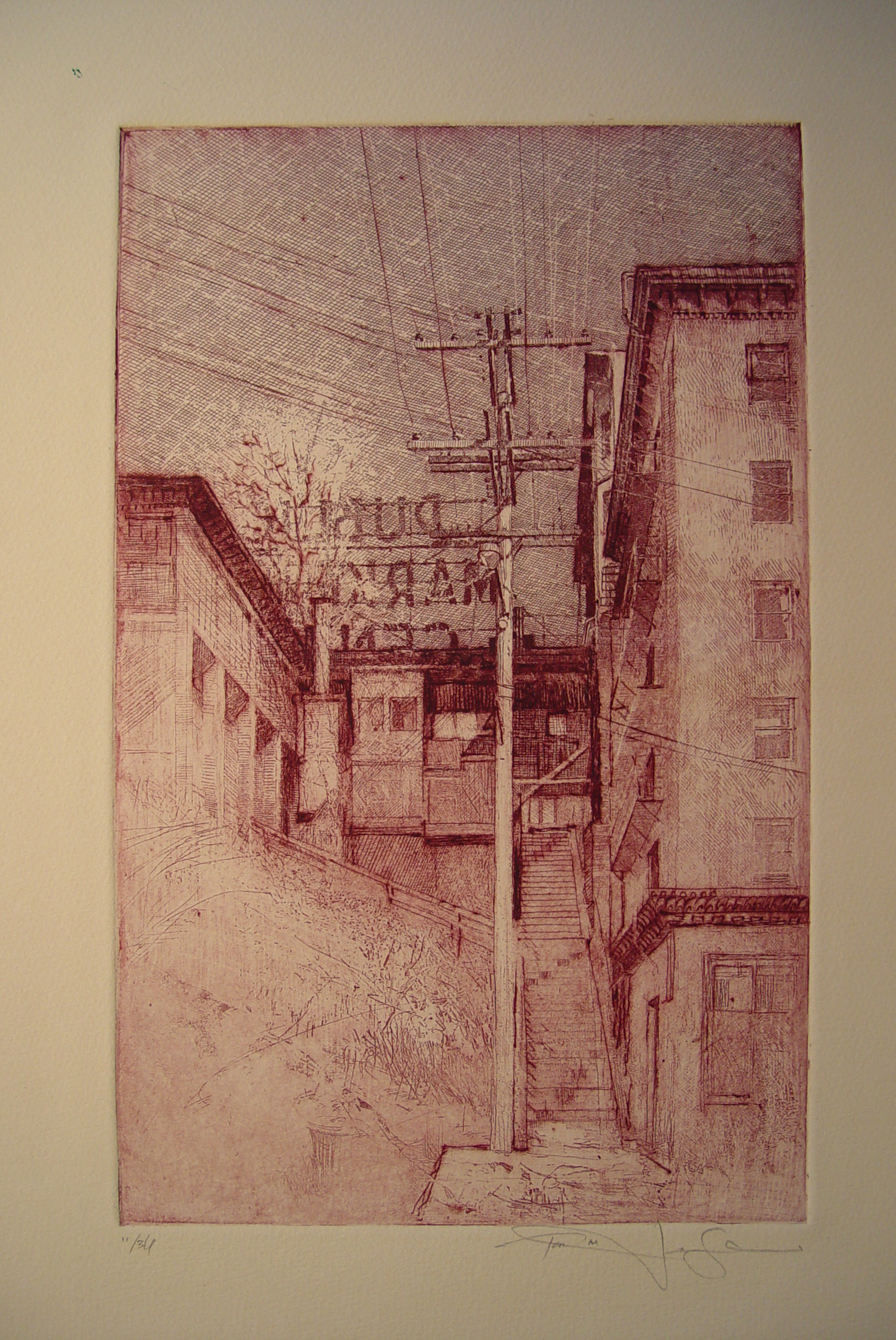 Etching 6.Back of The Market_etching_12.5x8_plate.jpg