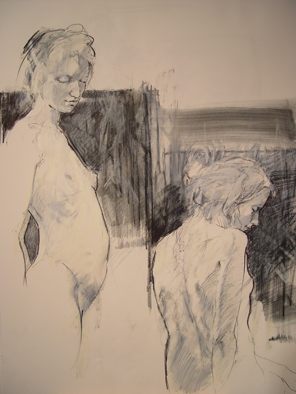 """Charcoal on Paper 2006 18"""" x 24"""""""