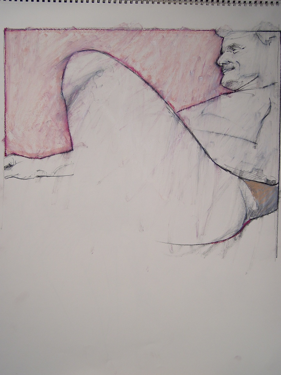 """Charcoal/ Pastel on Paper 2008 24"""" x 18"""""""