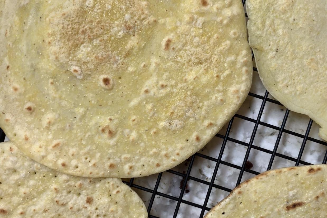 Warm, soft, homemade tortillas