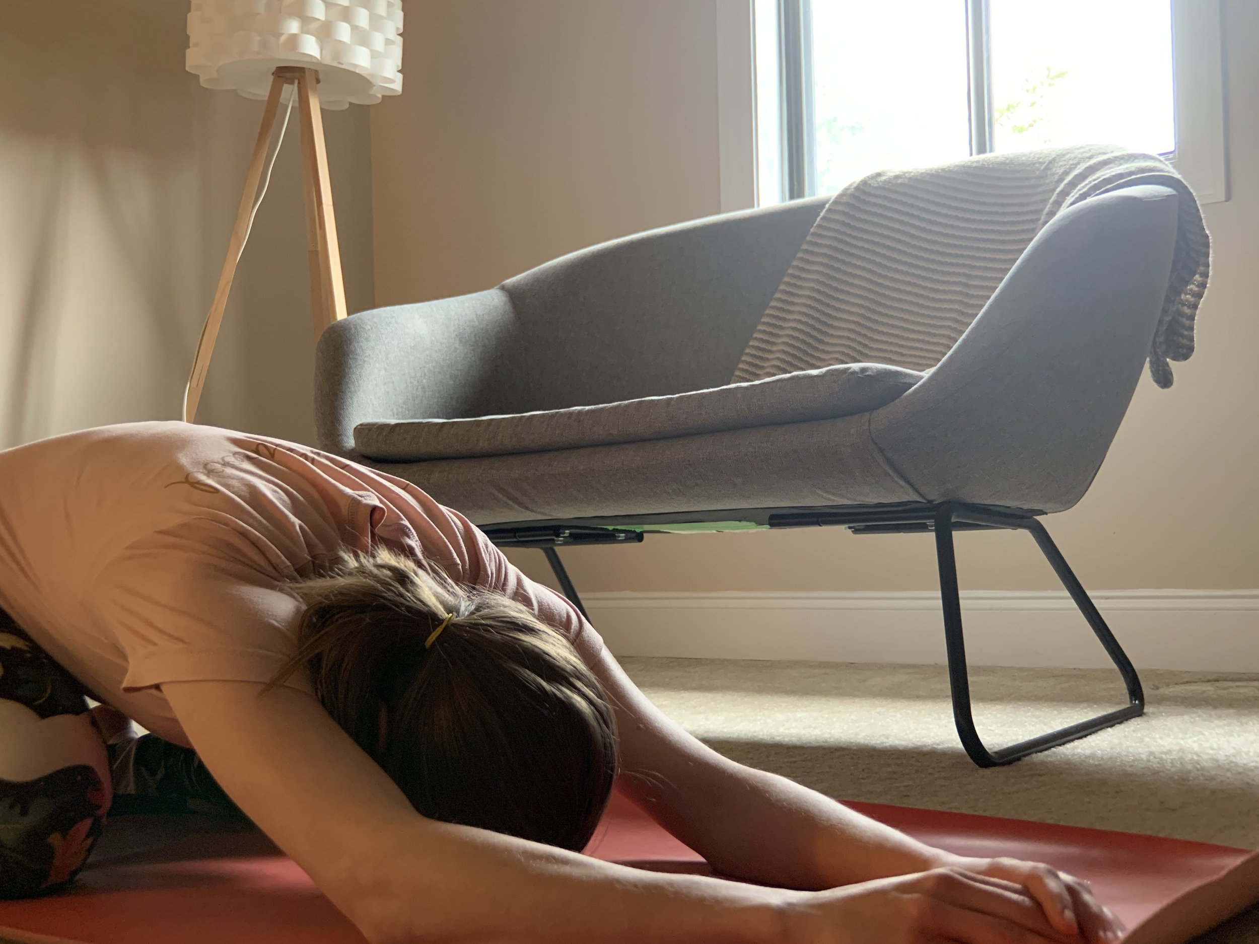 Don't fall asleep during yoga. Or do. Or whatever!