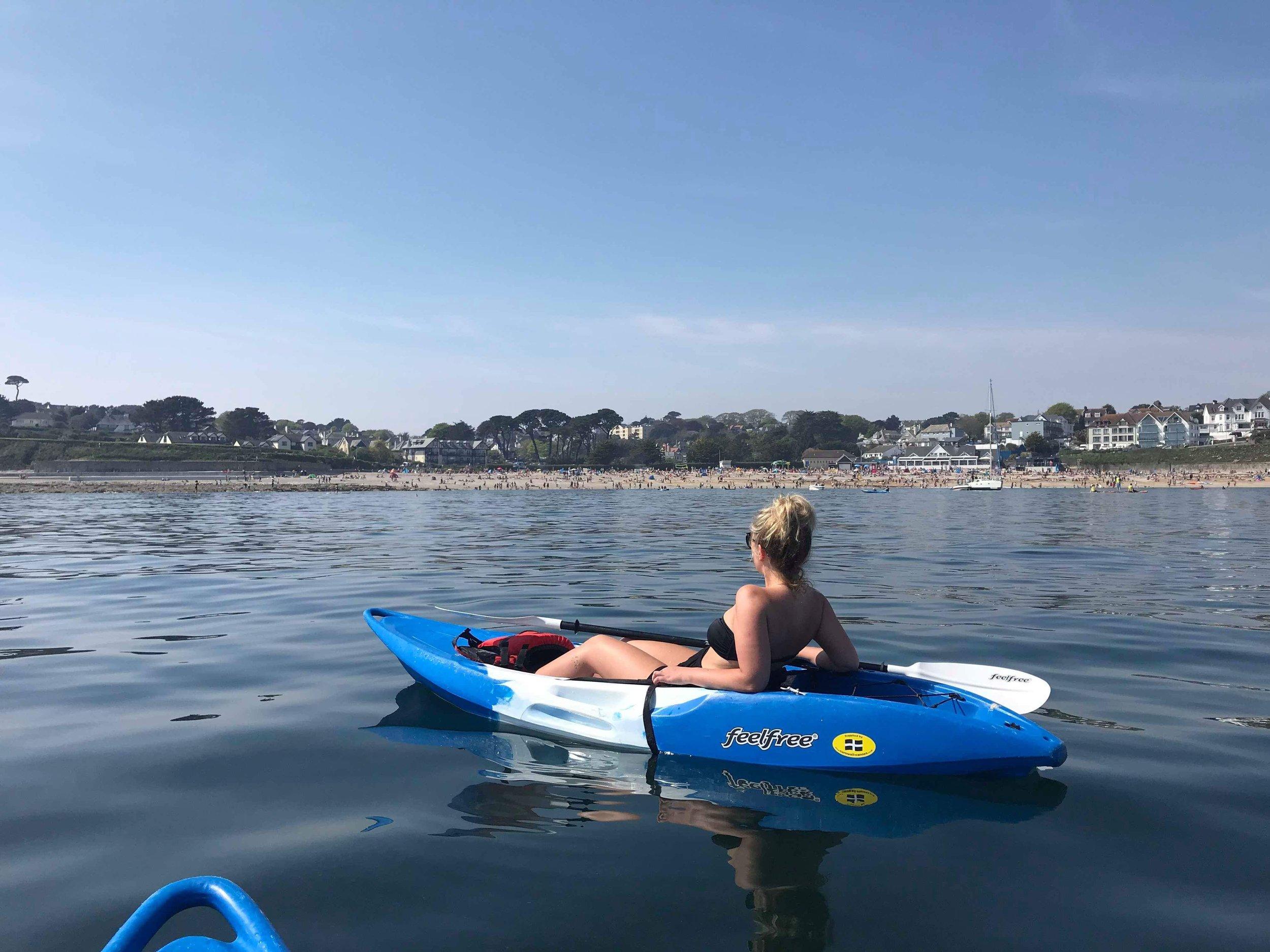 kayaking in cornwall