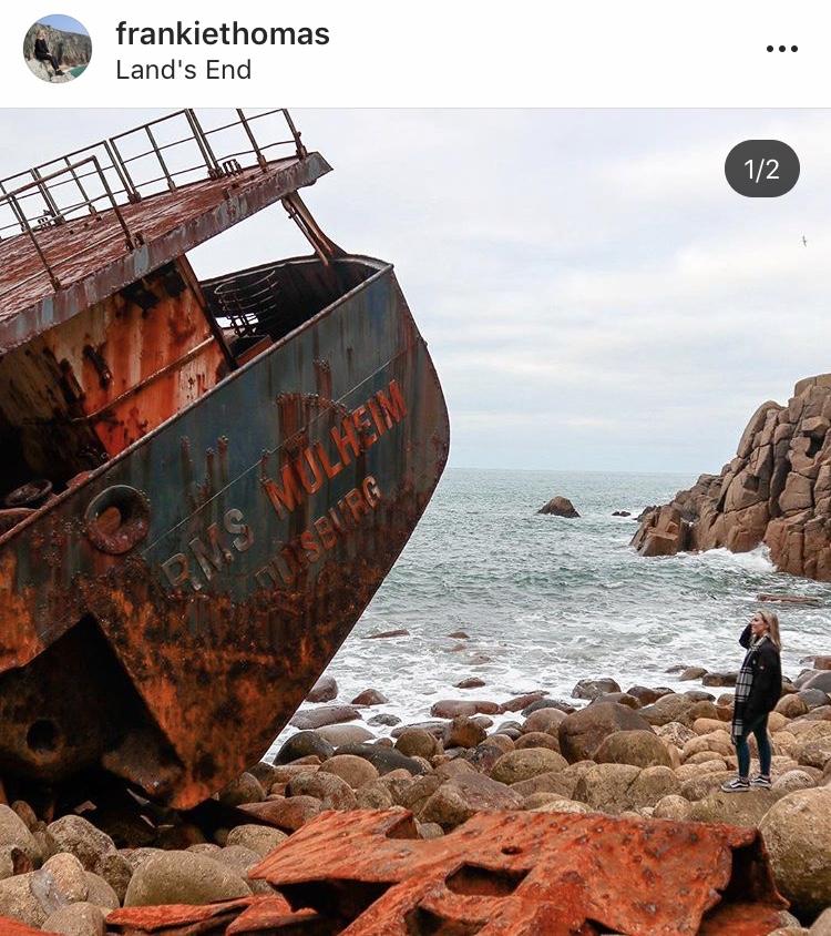RMS Mulheim, Cornwall Shipwrecks