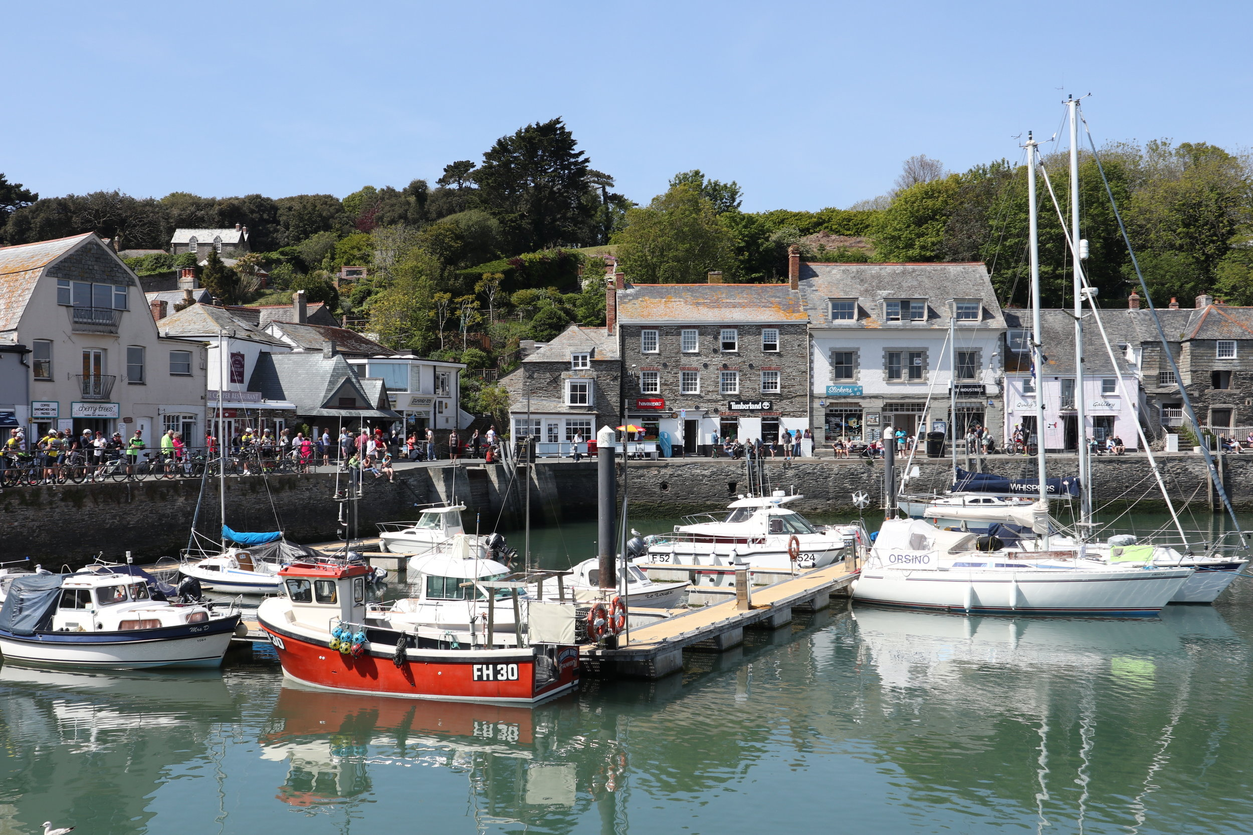 Padstow in Cornwall is a foodie haven with many michelin star restaurants