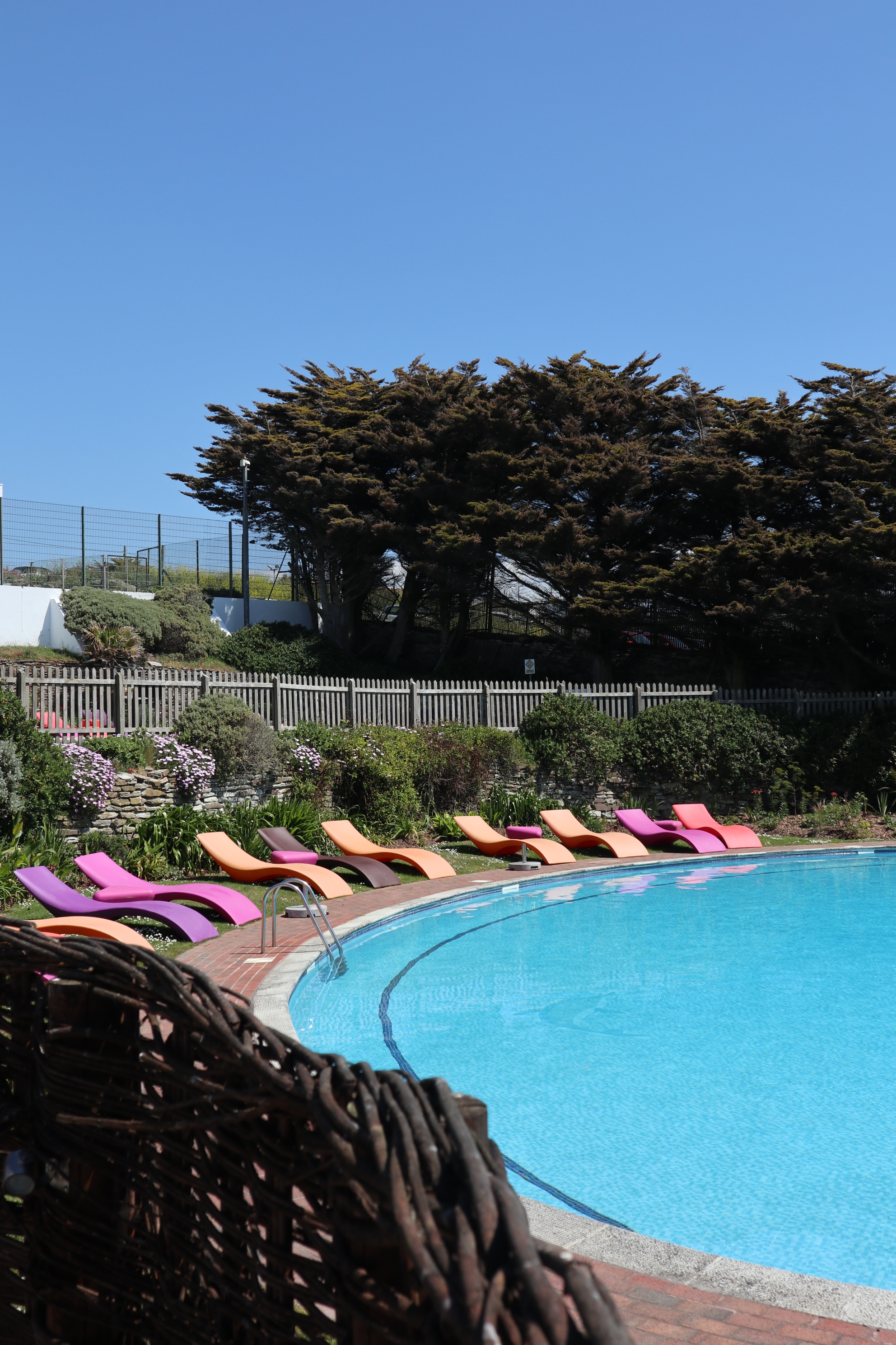 Outdoor Pool at the Bedruthan Spa and Hotel
