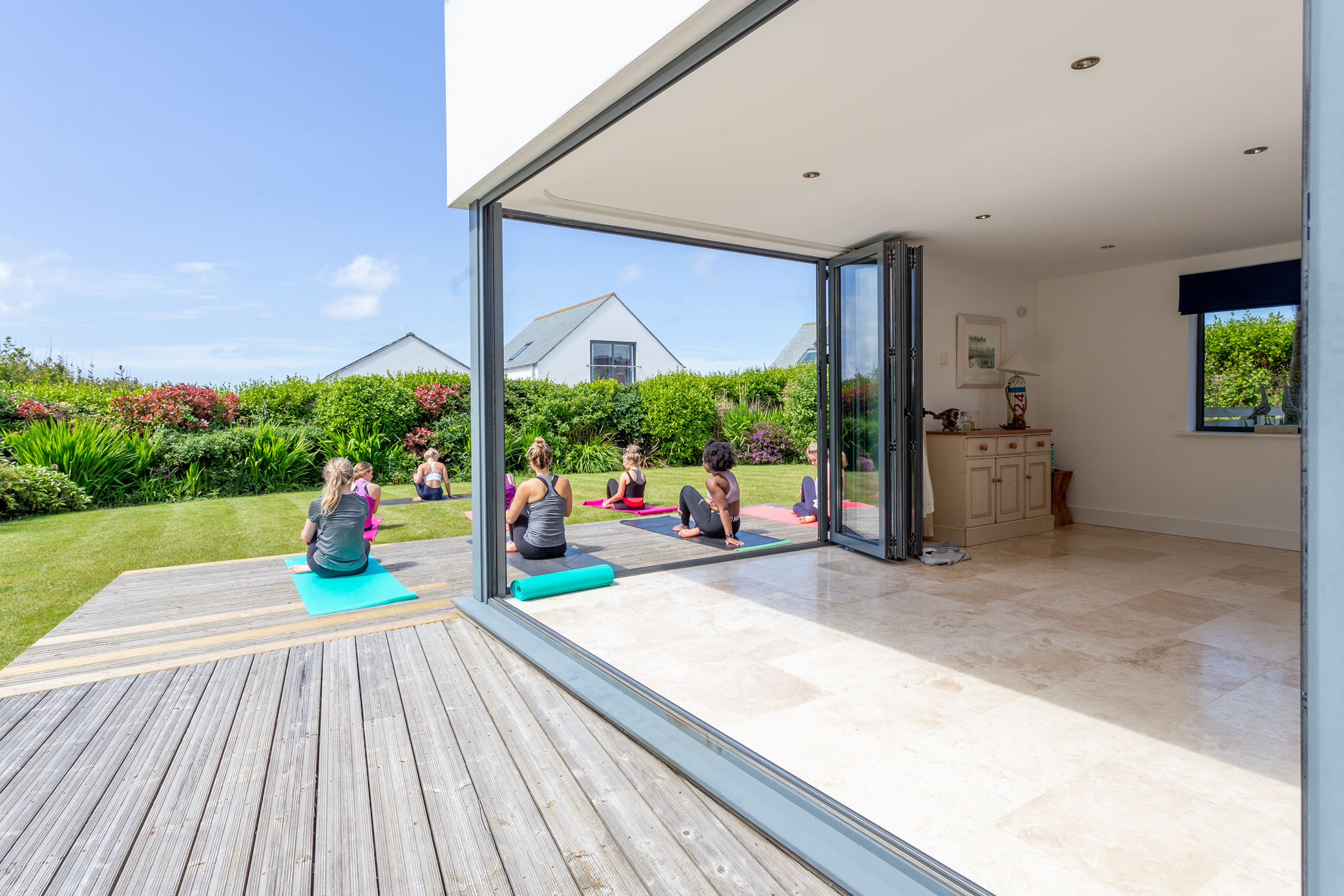 Yoga and surfing retreat