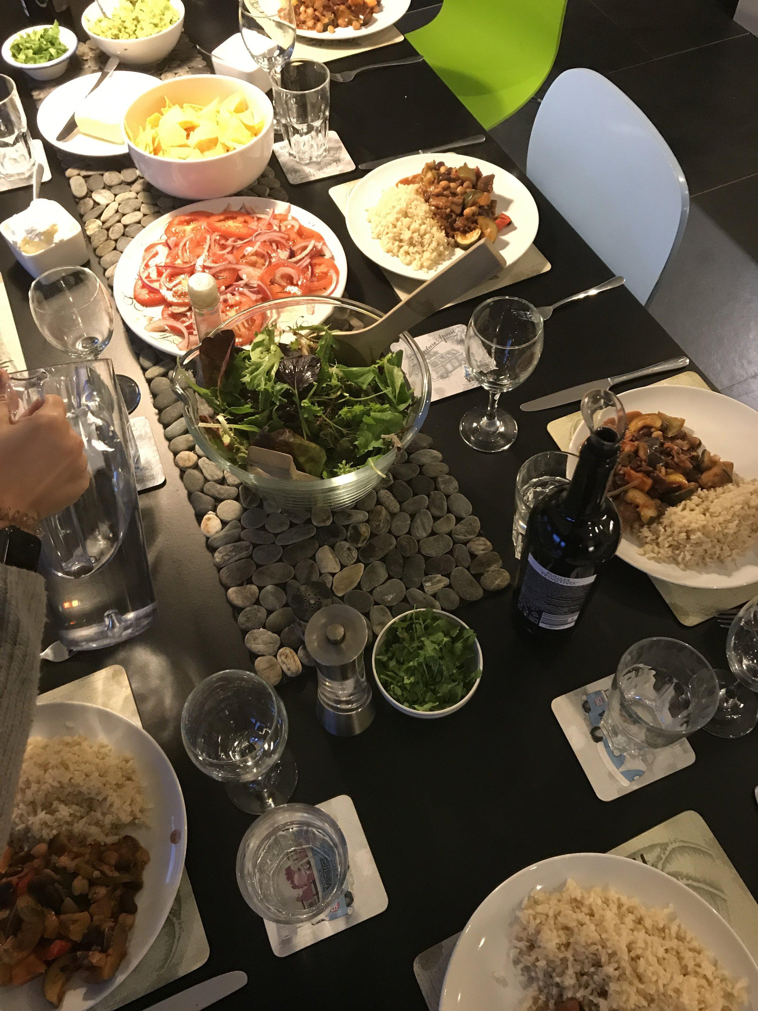 dinner in bude