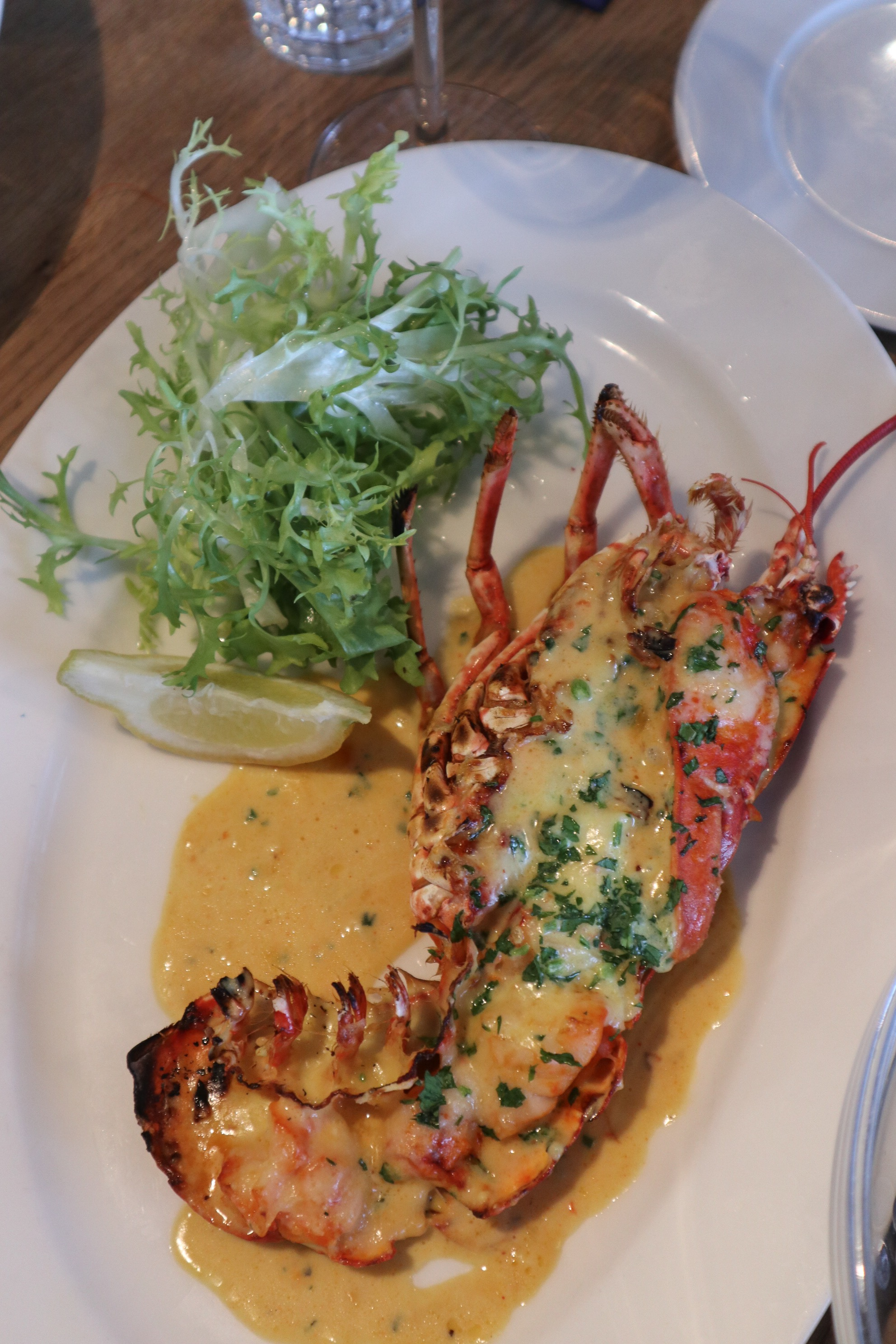Lobster at Rick Stein, Cornwall