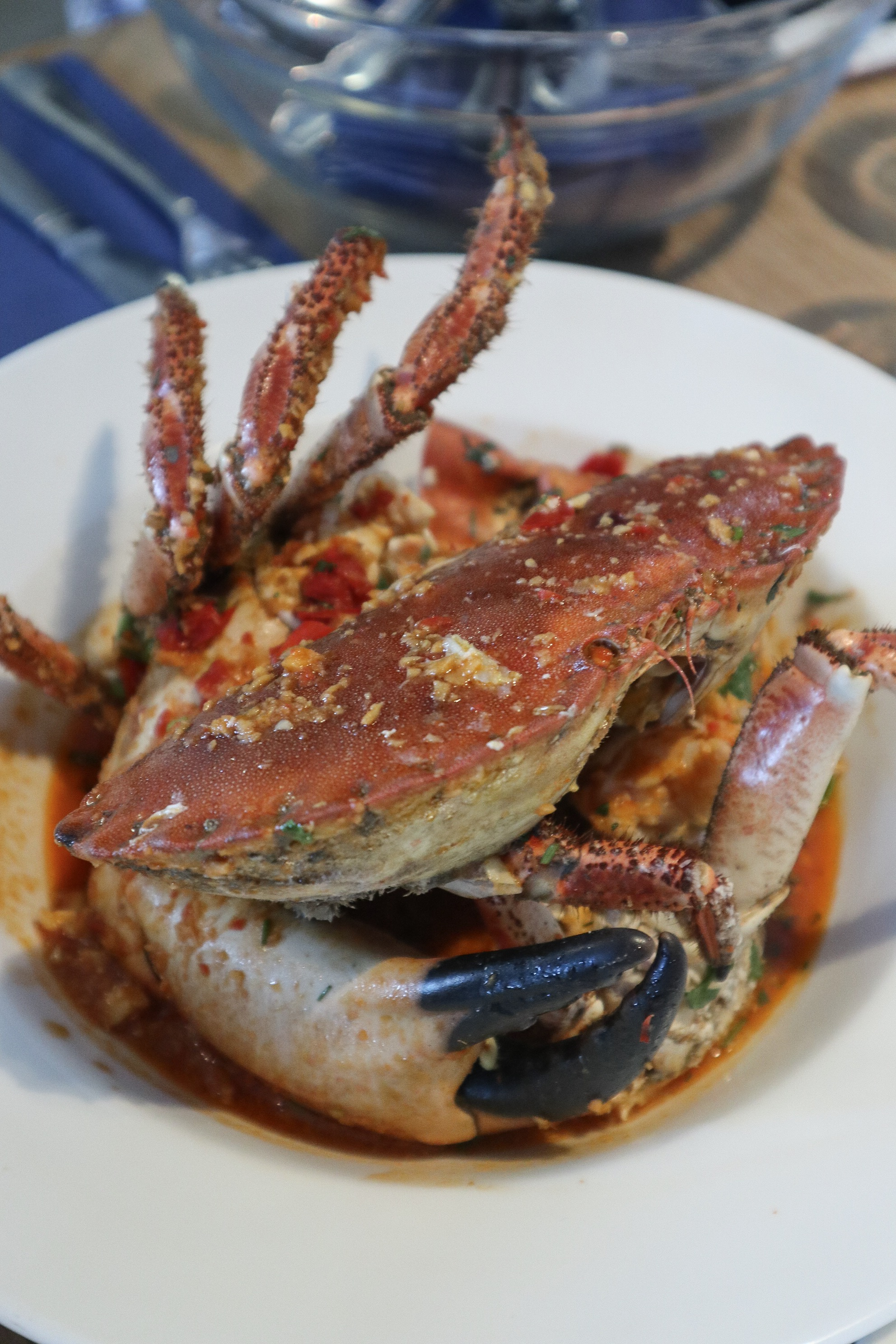 Cornish chill crab, rick stein falmouth