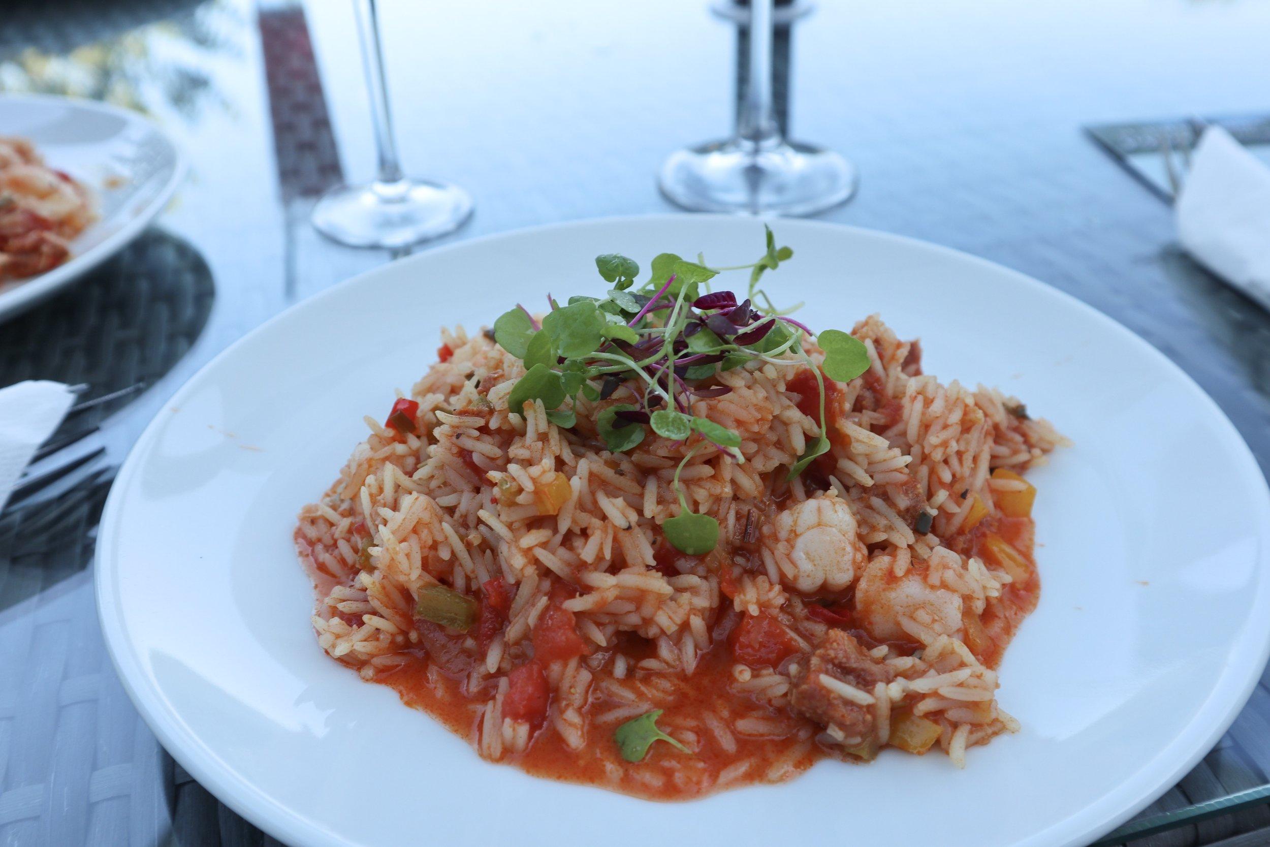 Seafood Jambalaya at The Alverton Hotel