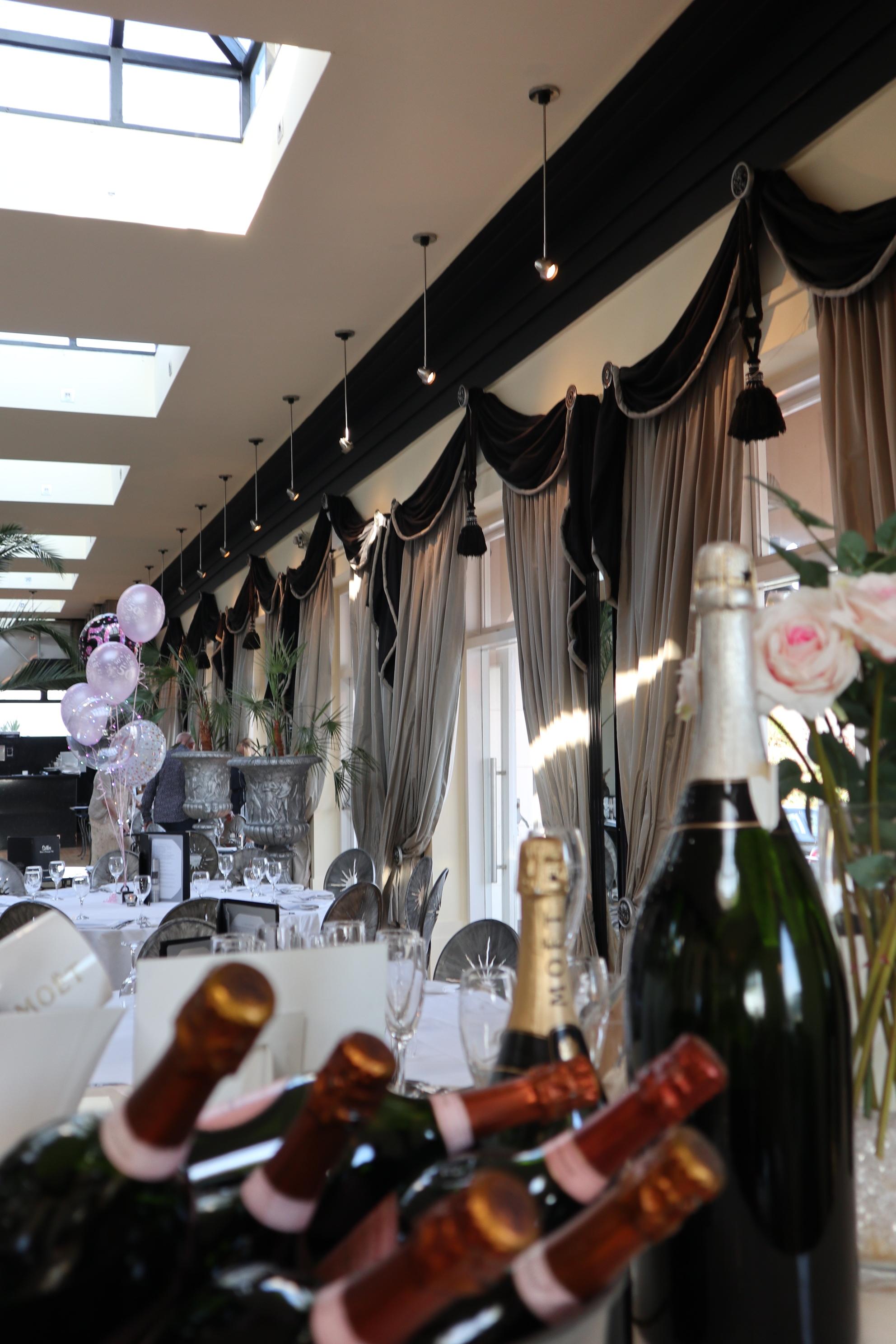 Silks Champagne Bar, Cornwall