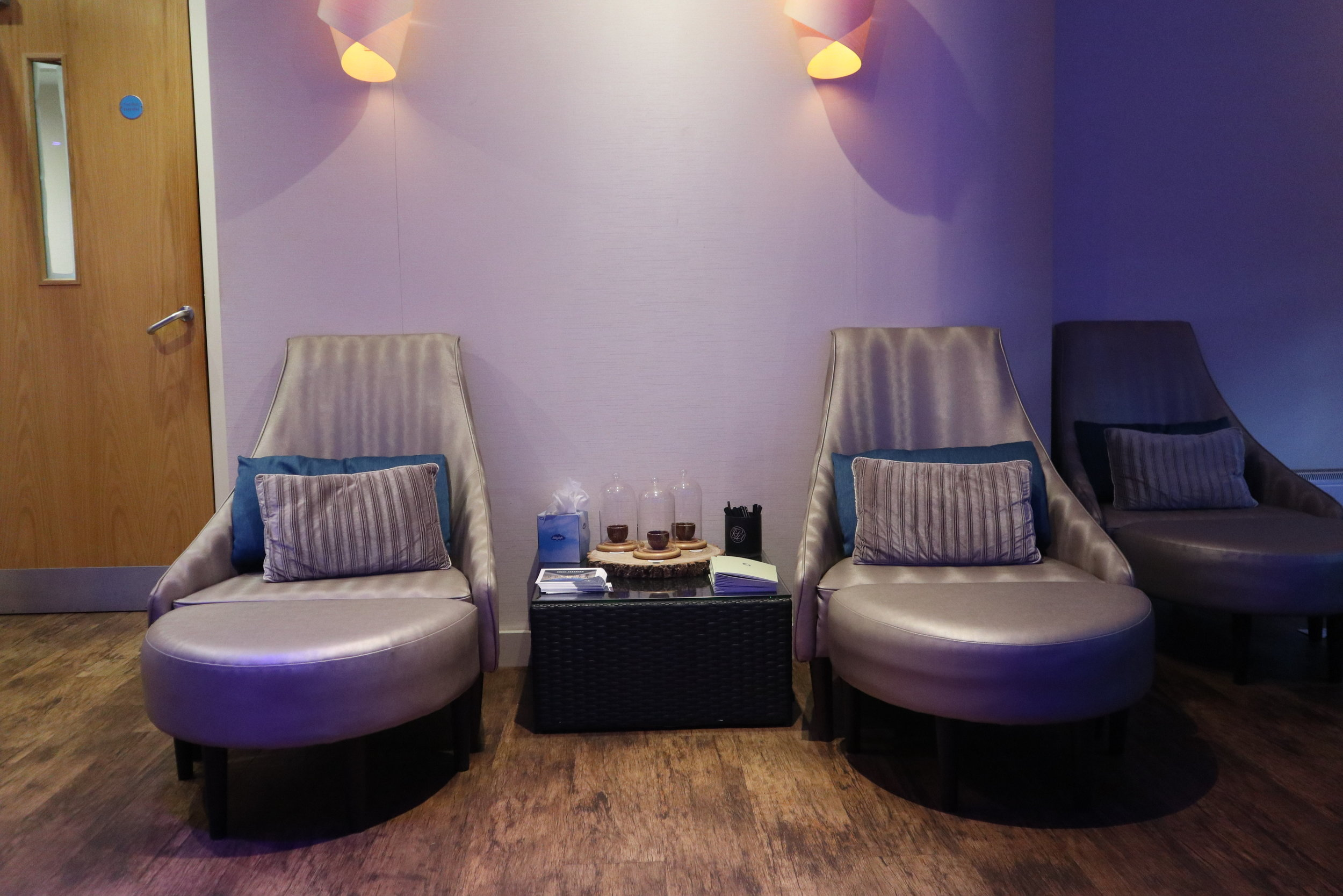 Relaxation room and the fistral spa