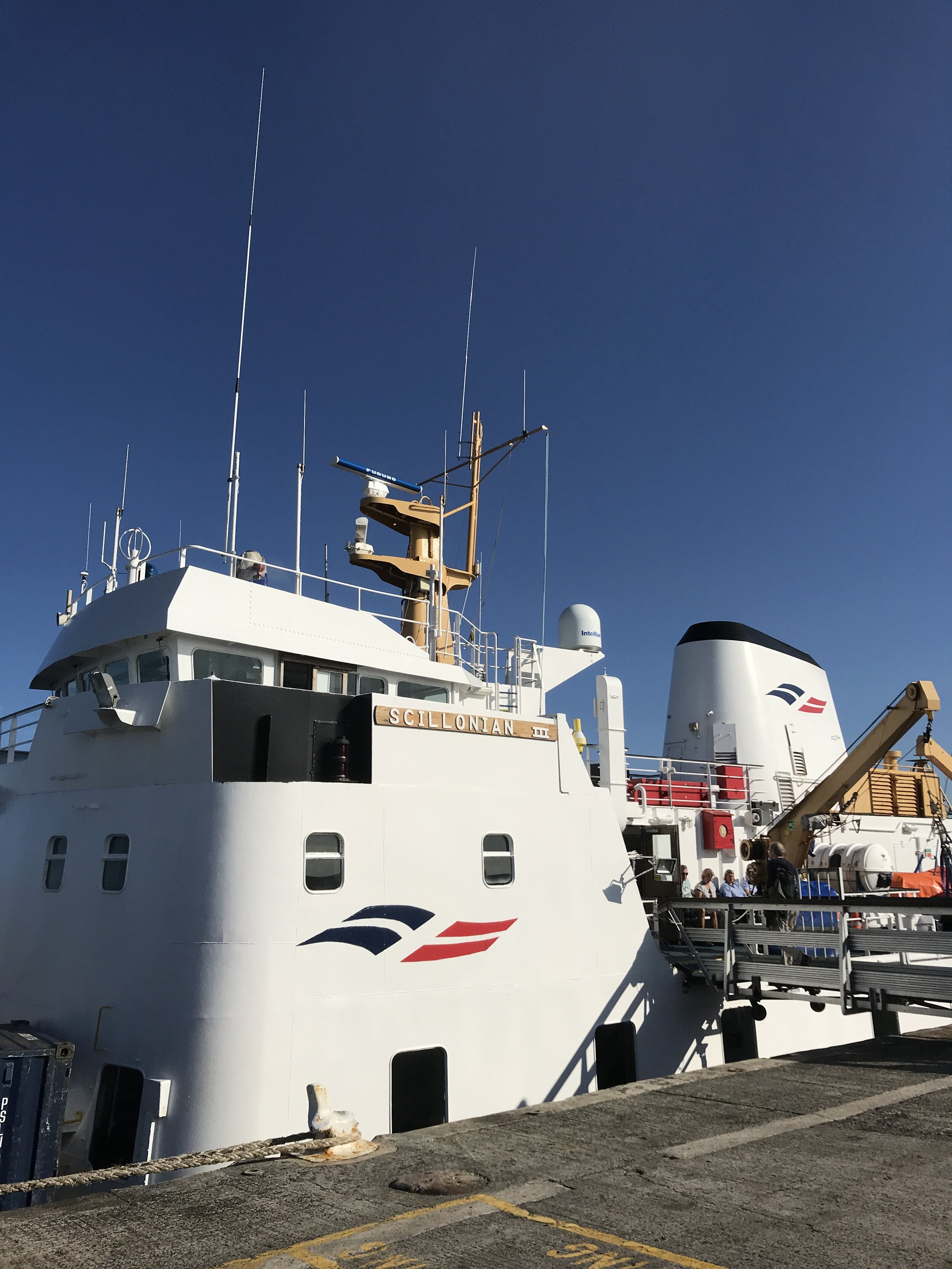 Scillonian Ferry to Isles of Scilly