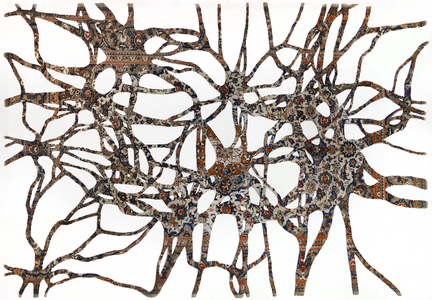 web222-Noemi_Kiss_SYNAPSEN_tapestry-wallpiece-cut-out-handknotted-oriental-rug_marion_friedmann_Gallery.jpg
